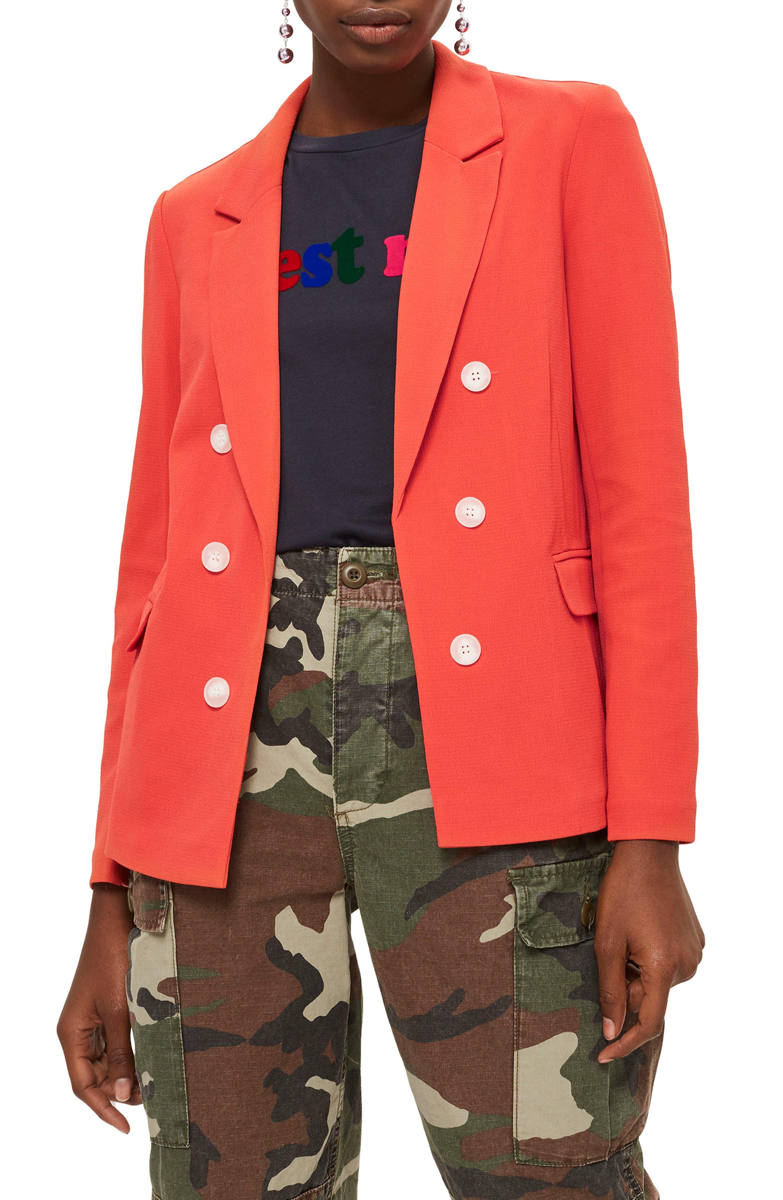 Bonded Bubble Crepe Jacket,                             Main thumbnail 2, color,