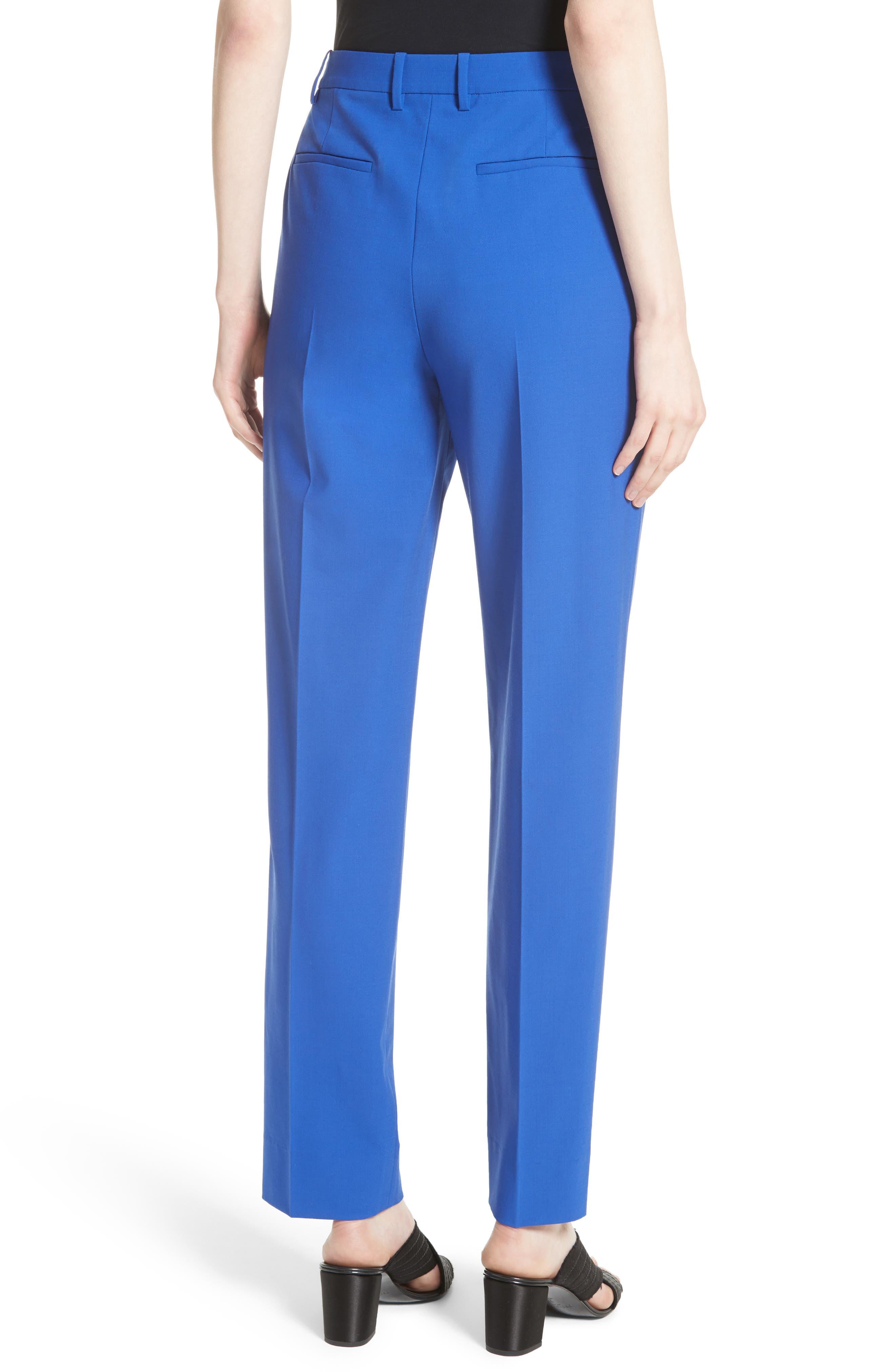 Pleat Front Pants,                             Alternate thumbnail 4, color,