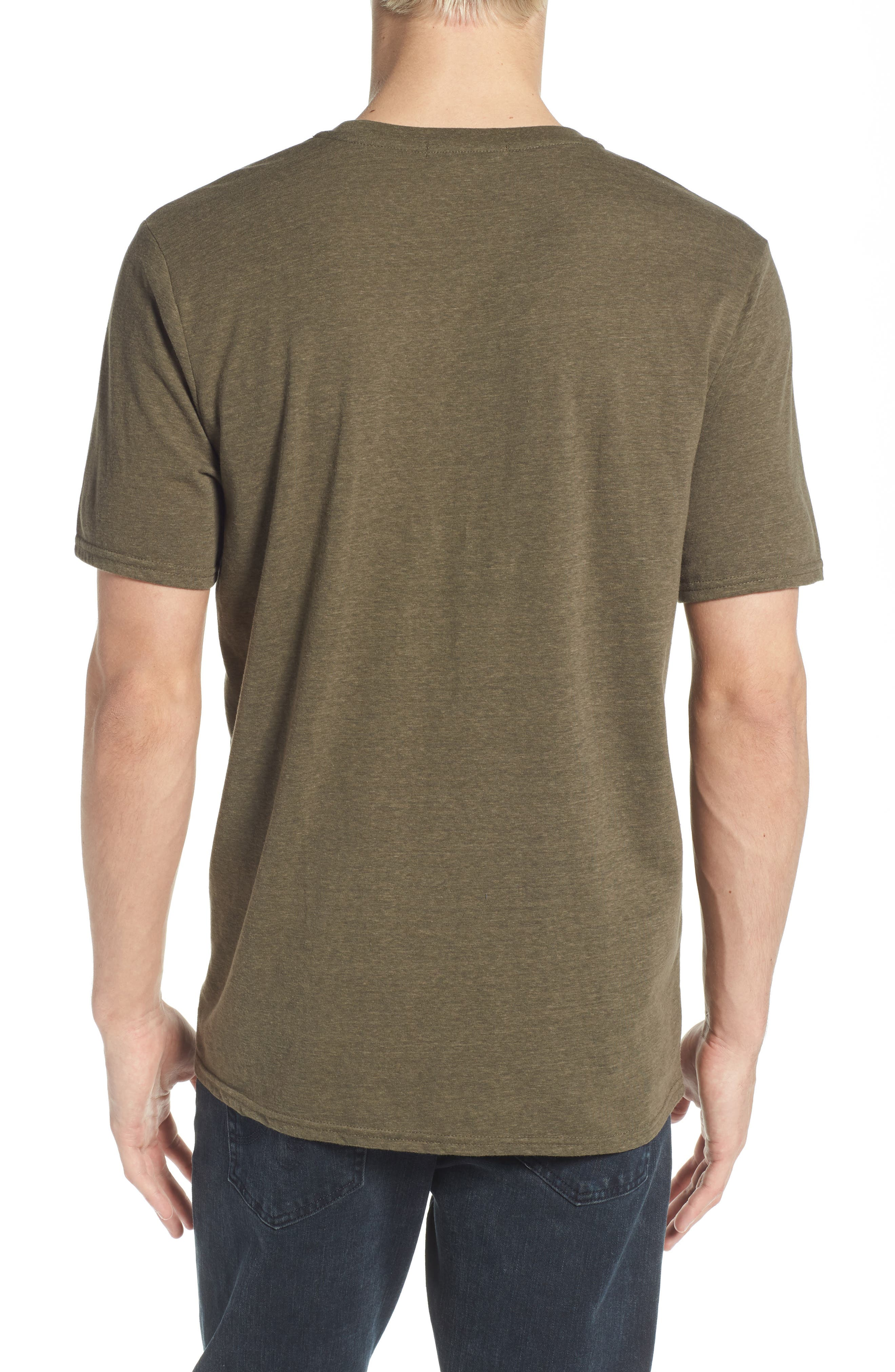 Threads for Thought Heathered Crew Neck,                             Alternate thumbnail 18, color,