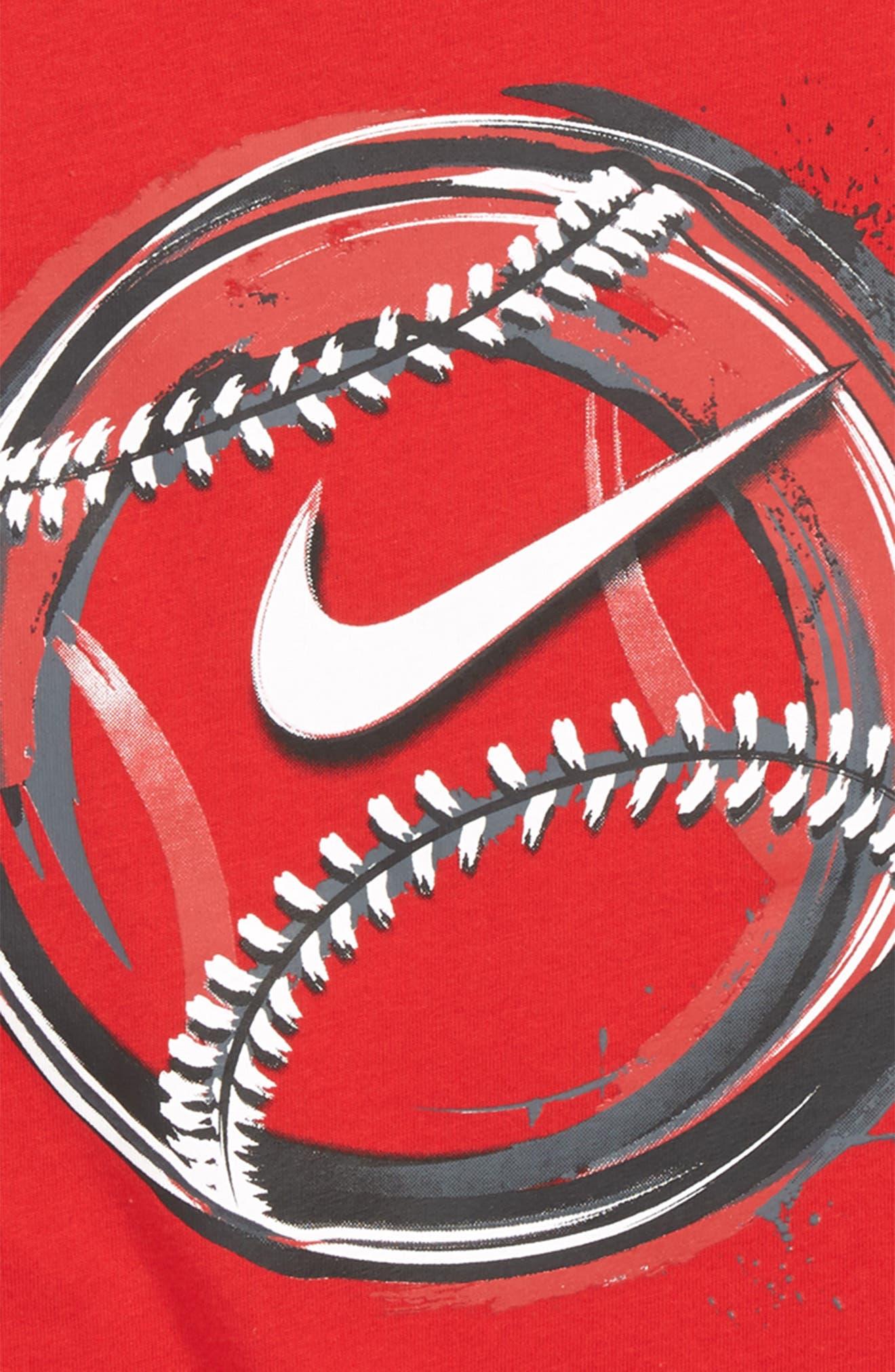 Brush Baseball Graphic T-Shirt,                             Alternate thumbnail 2, color,