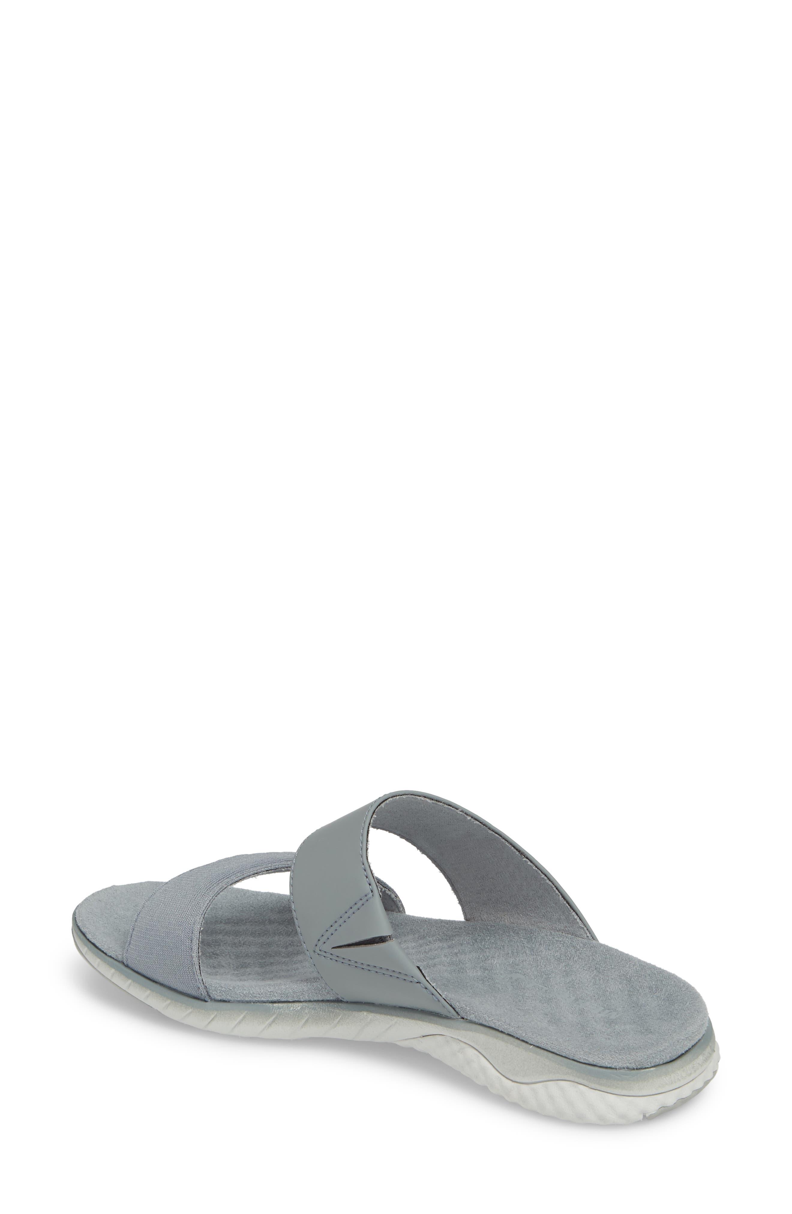 1SIX8 Linna Air Cushion+ Slide Sandal,                             Alternate thumbnail 6, color,