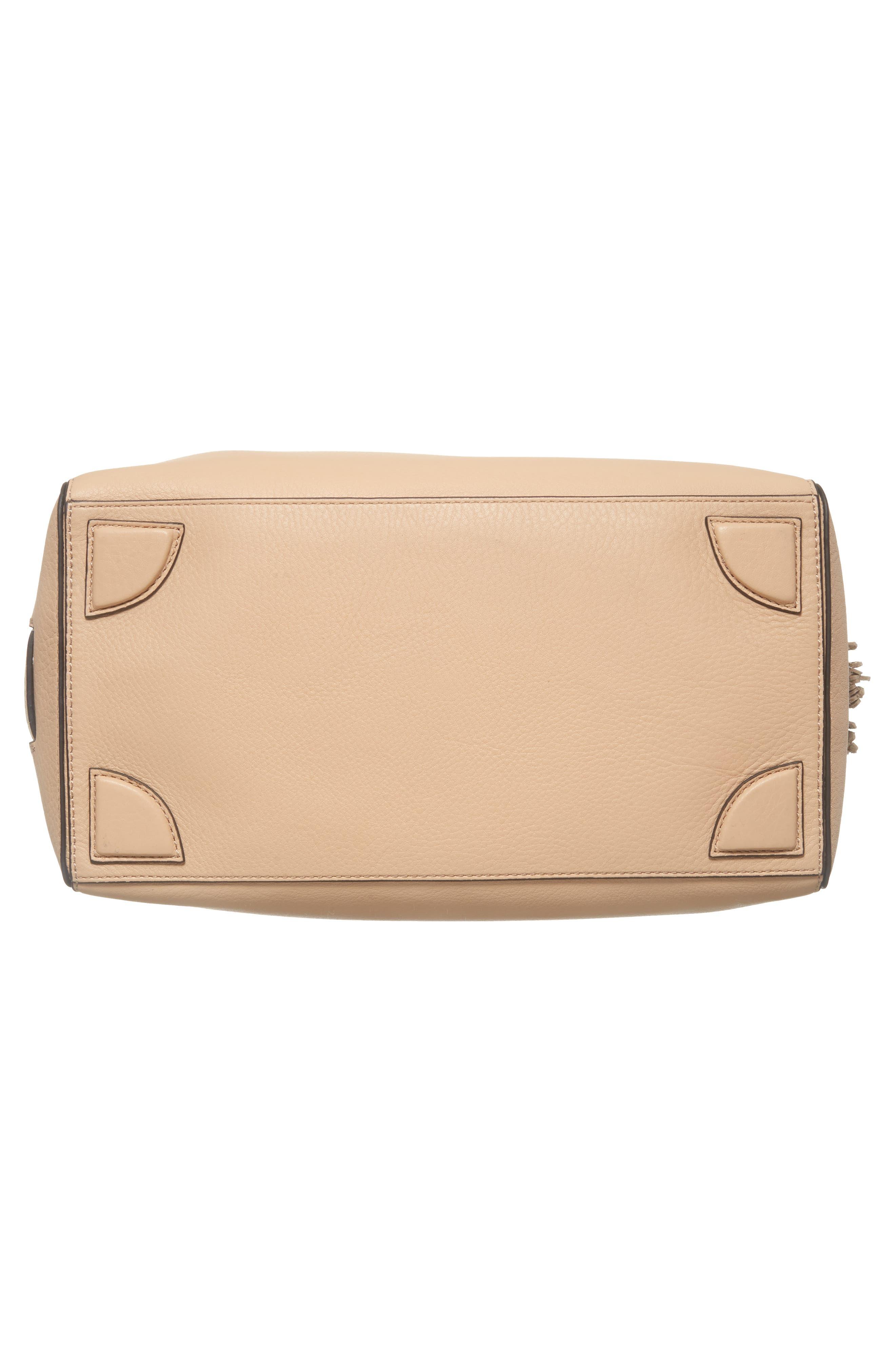 Cassidy RFID Pebbled Leather Bucket Bag,                             Alternate thumbnail 23, color,