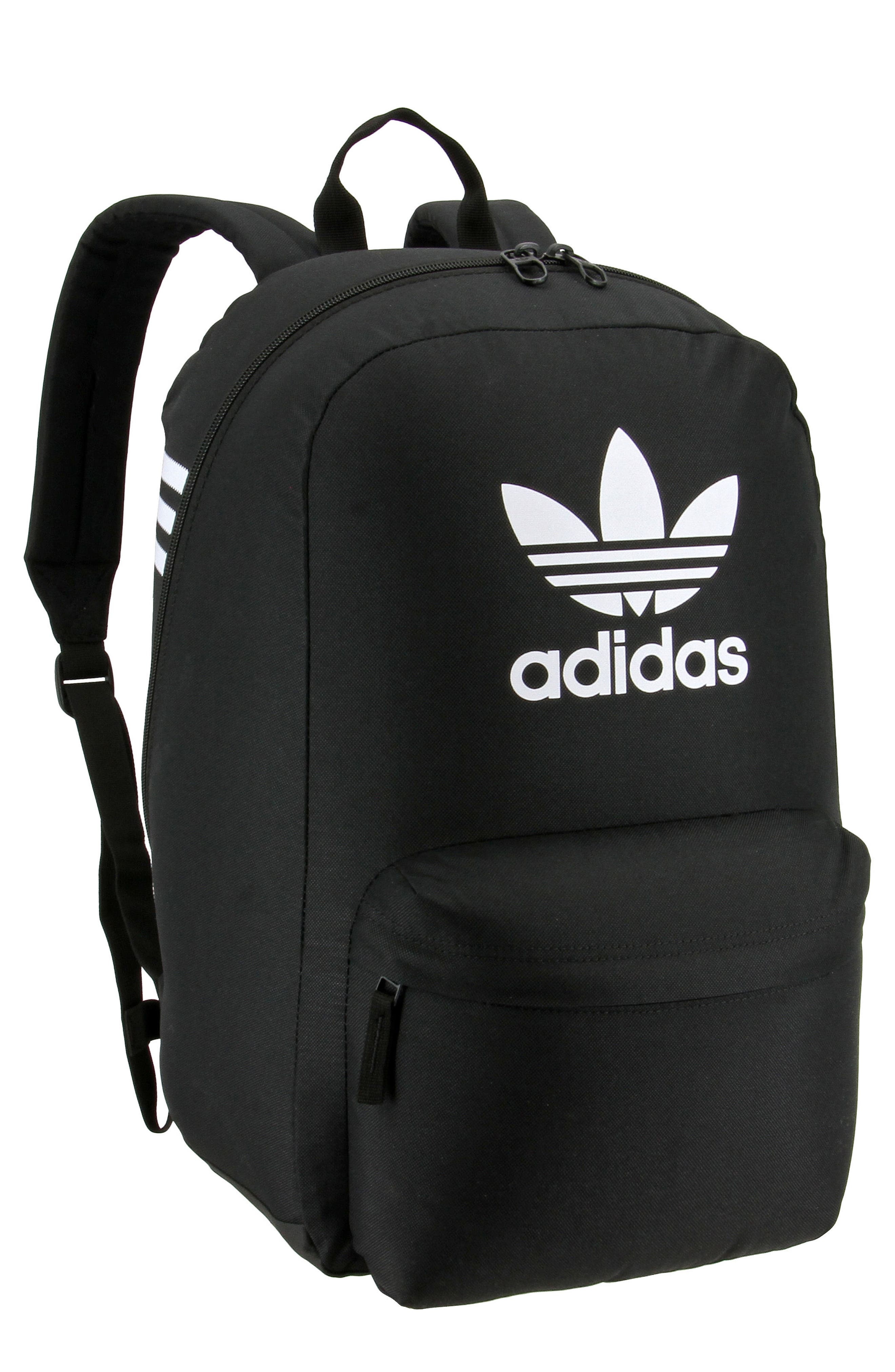 Originals Big Logo Backpack - Black in Black/ White