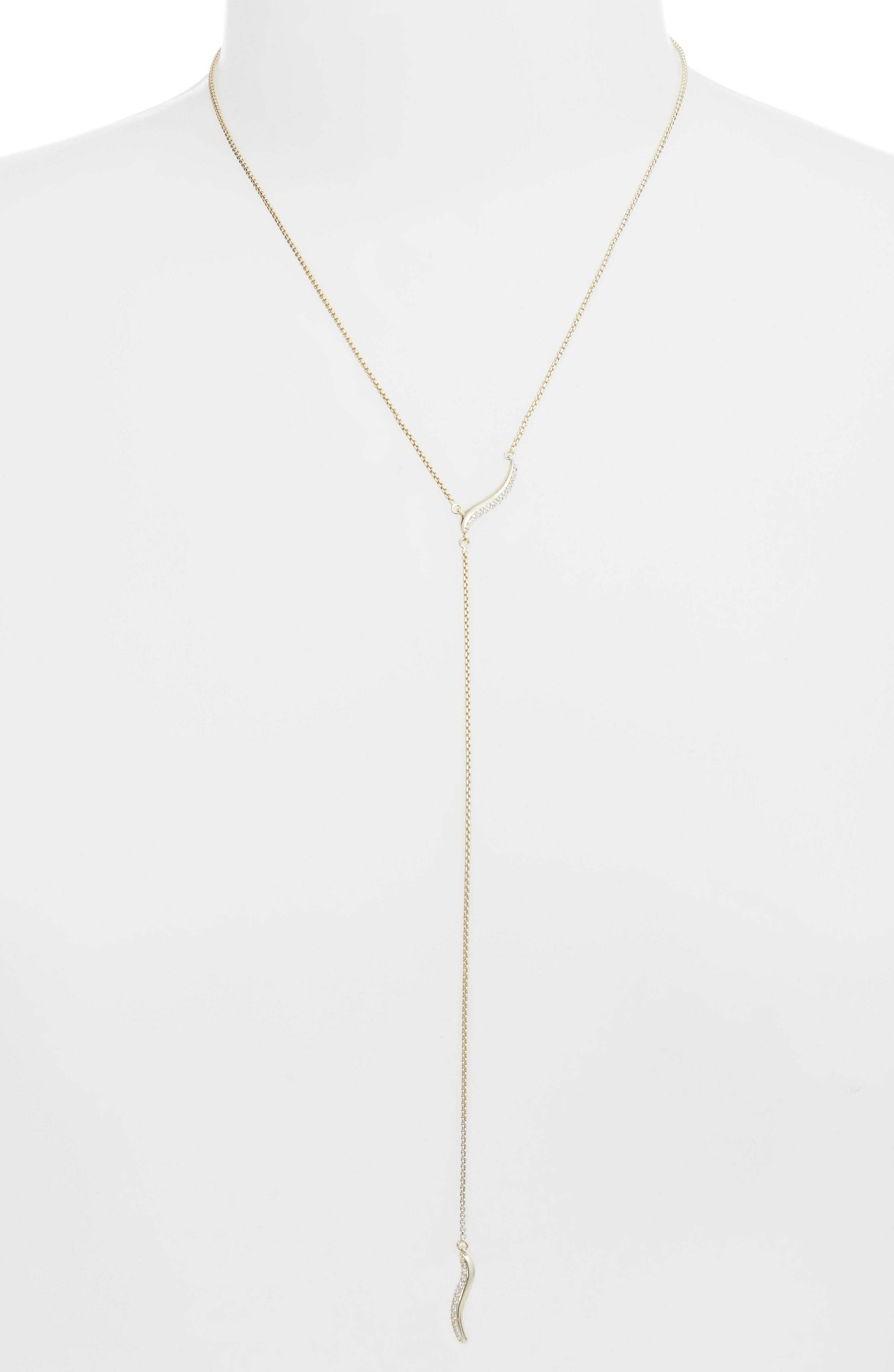 KENDRA SCOTT Jace Y-Necklace, Main, color, 710