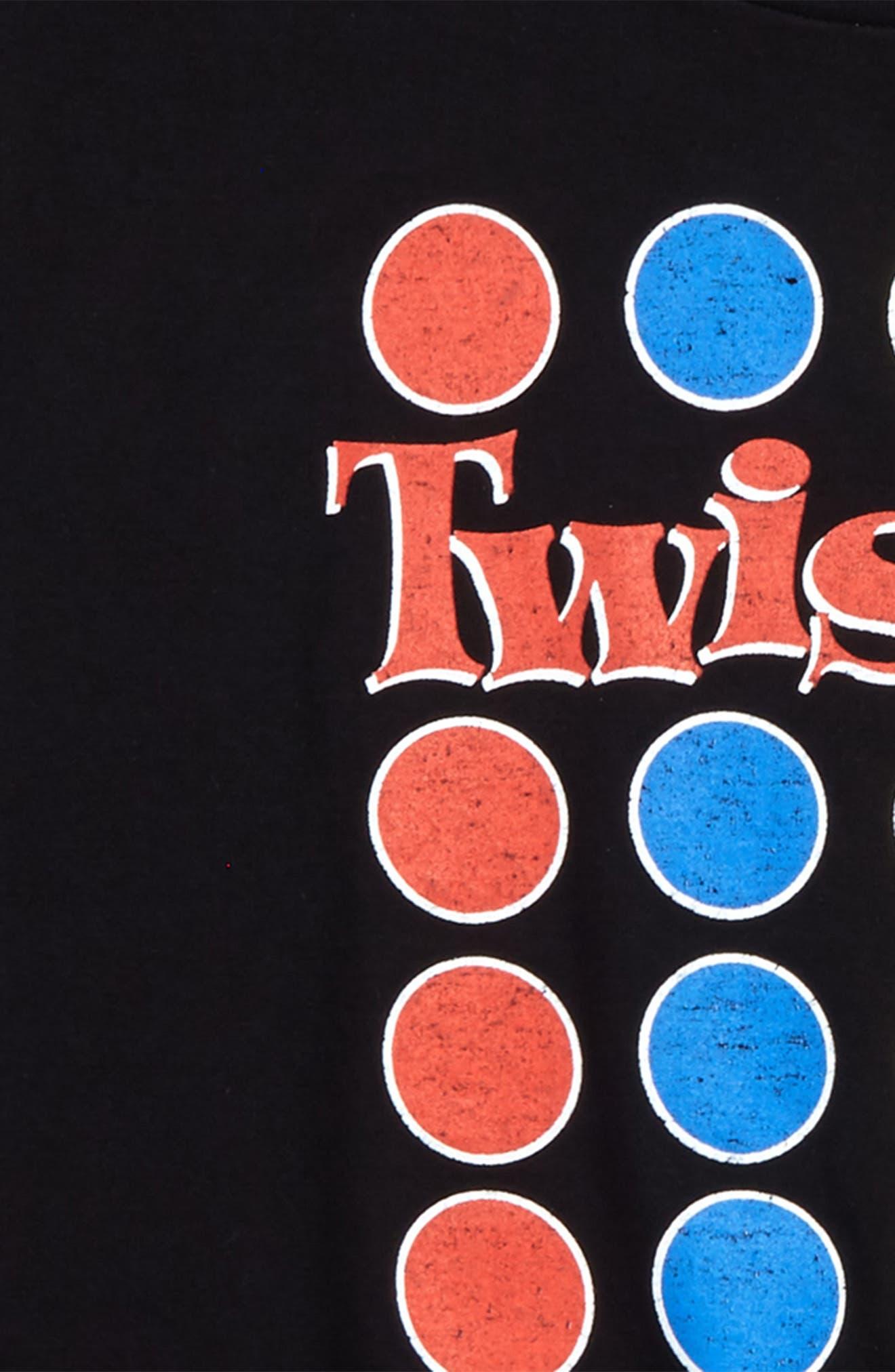 Twister Graphic T-Shirt,                             Alternate thumbnail 2, color,                             001