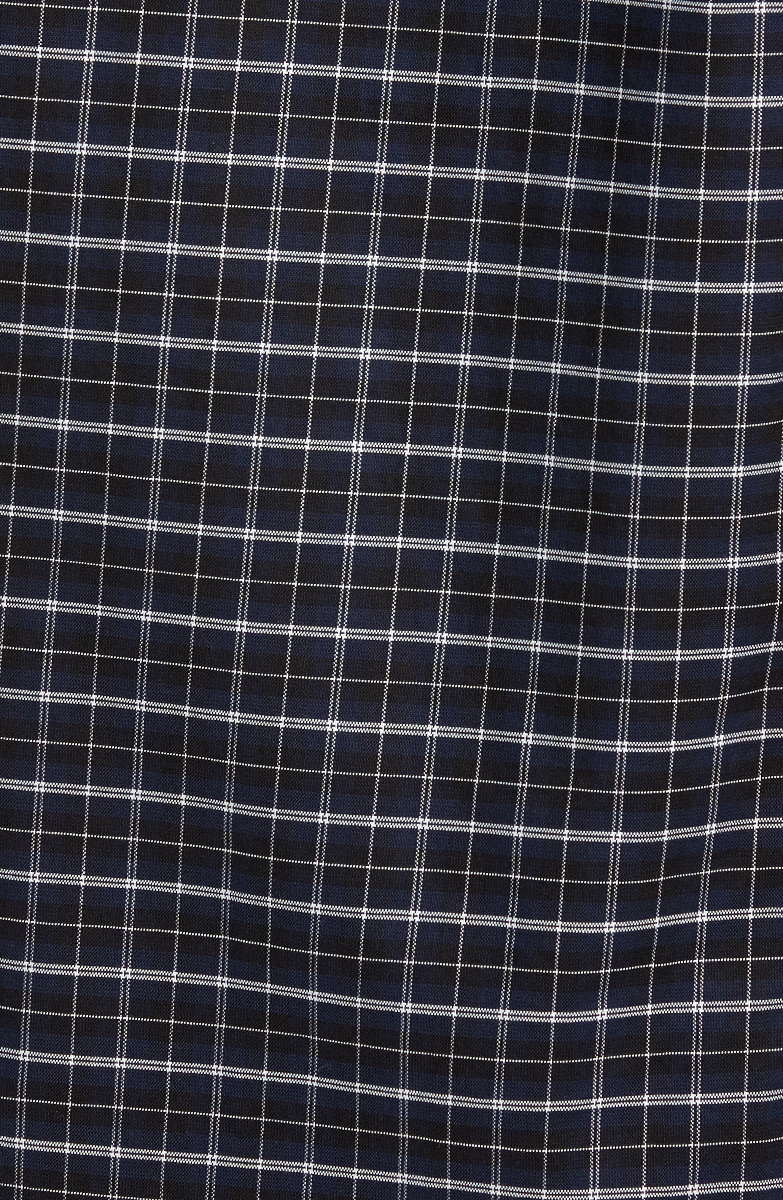 Rod Slim Fit Oxford Check Sport Shirt,                             Alternate thumbnail 5, color,                             410