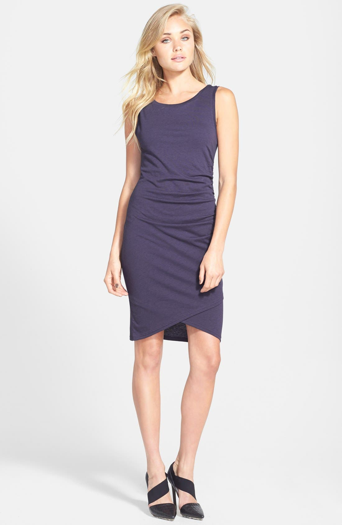 Ruched Body-Con Tank Dress,                             Main thumbnail 29, color,