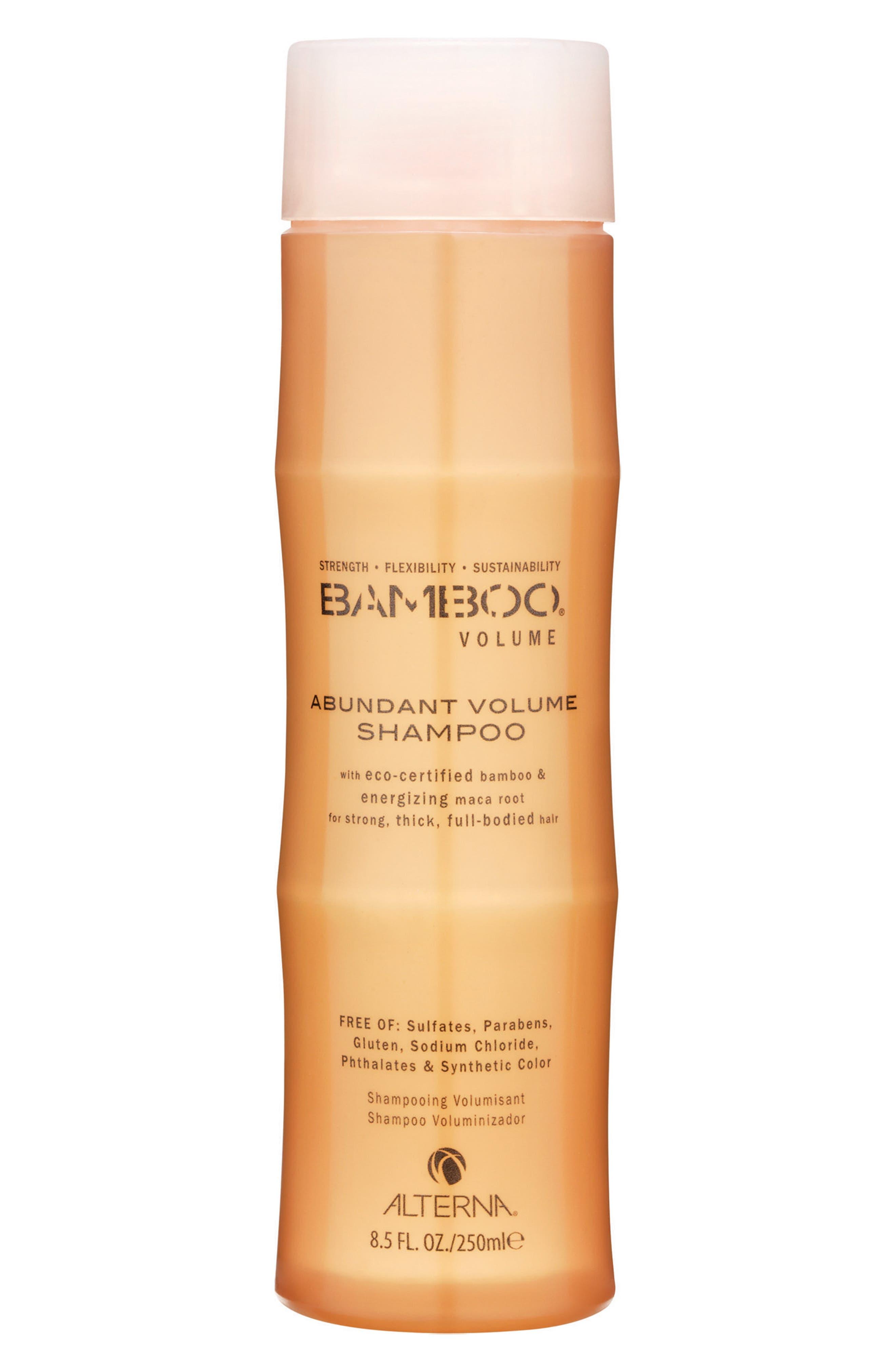 Bamboo Volume Abundant Volume Shampoo,                             Main thumbnail 1, color,                             000