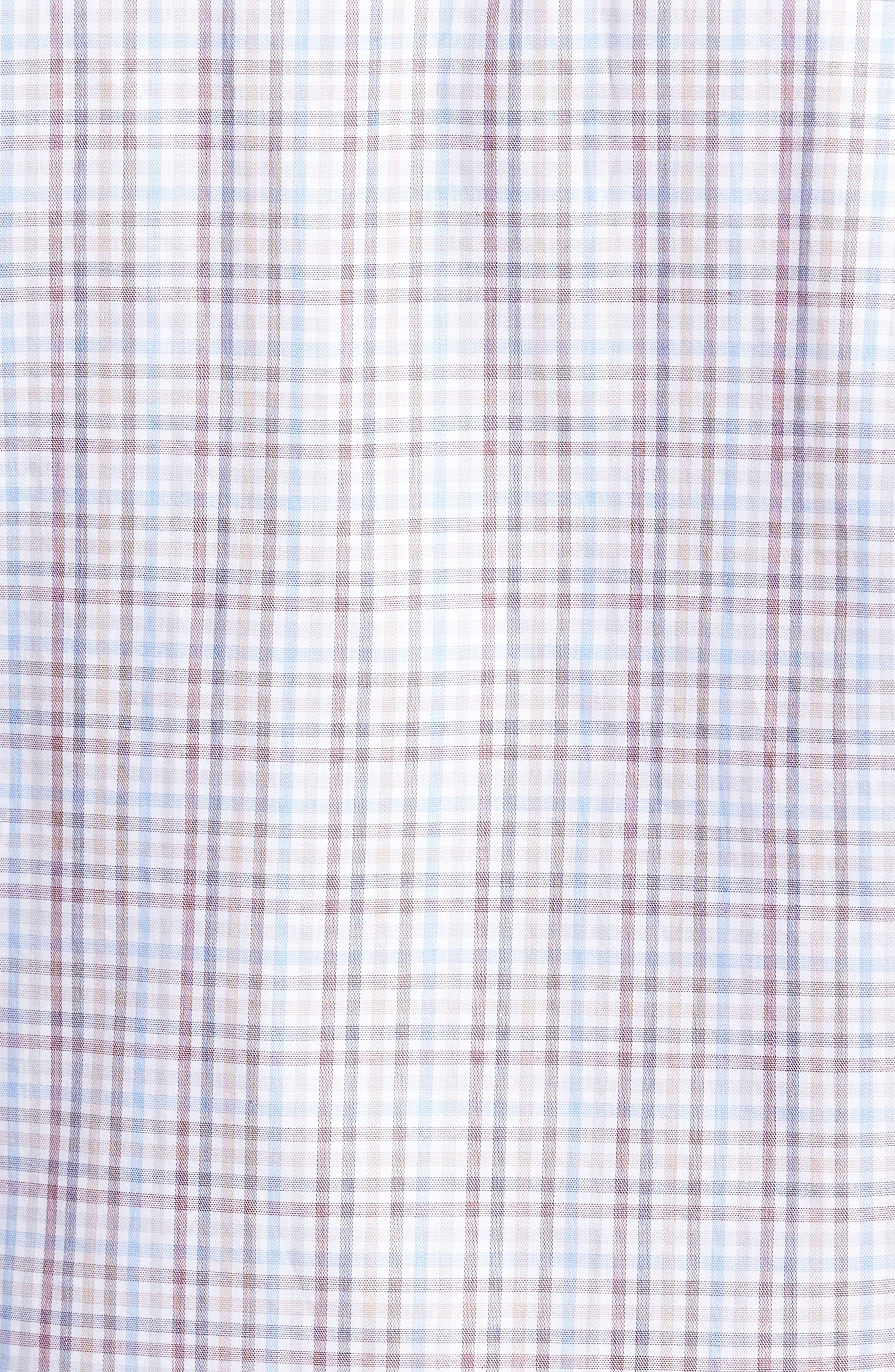 Islay Distilled Check Sport Shirt,                             Alternate thumbnail 5, color,                             669