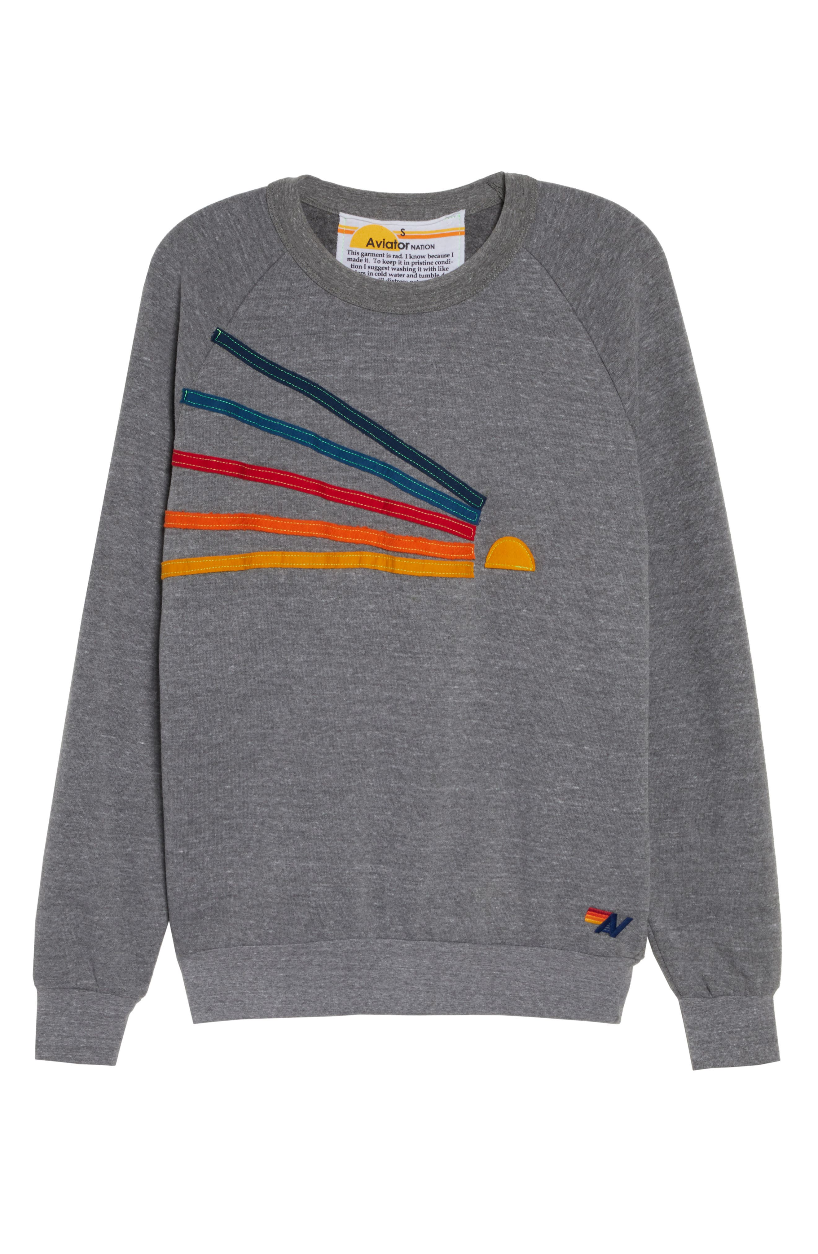 Daydream Sweatshirt,                             Alternate thumbnail 7, color,                             HEATHER GREY