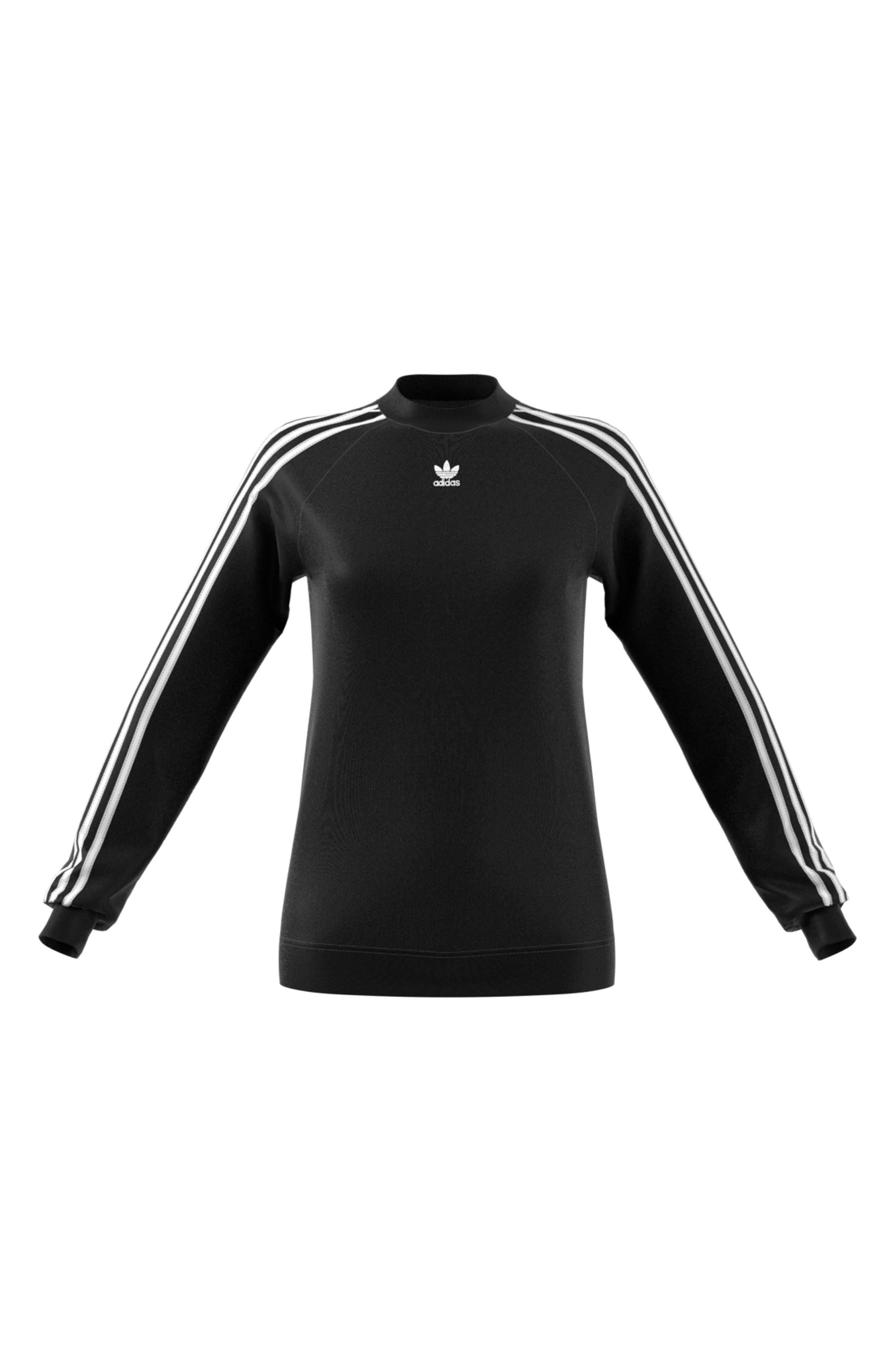 TRF Sweatshirt,                             Alternate thumbnail 6, color,                             BLACK