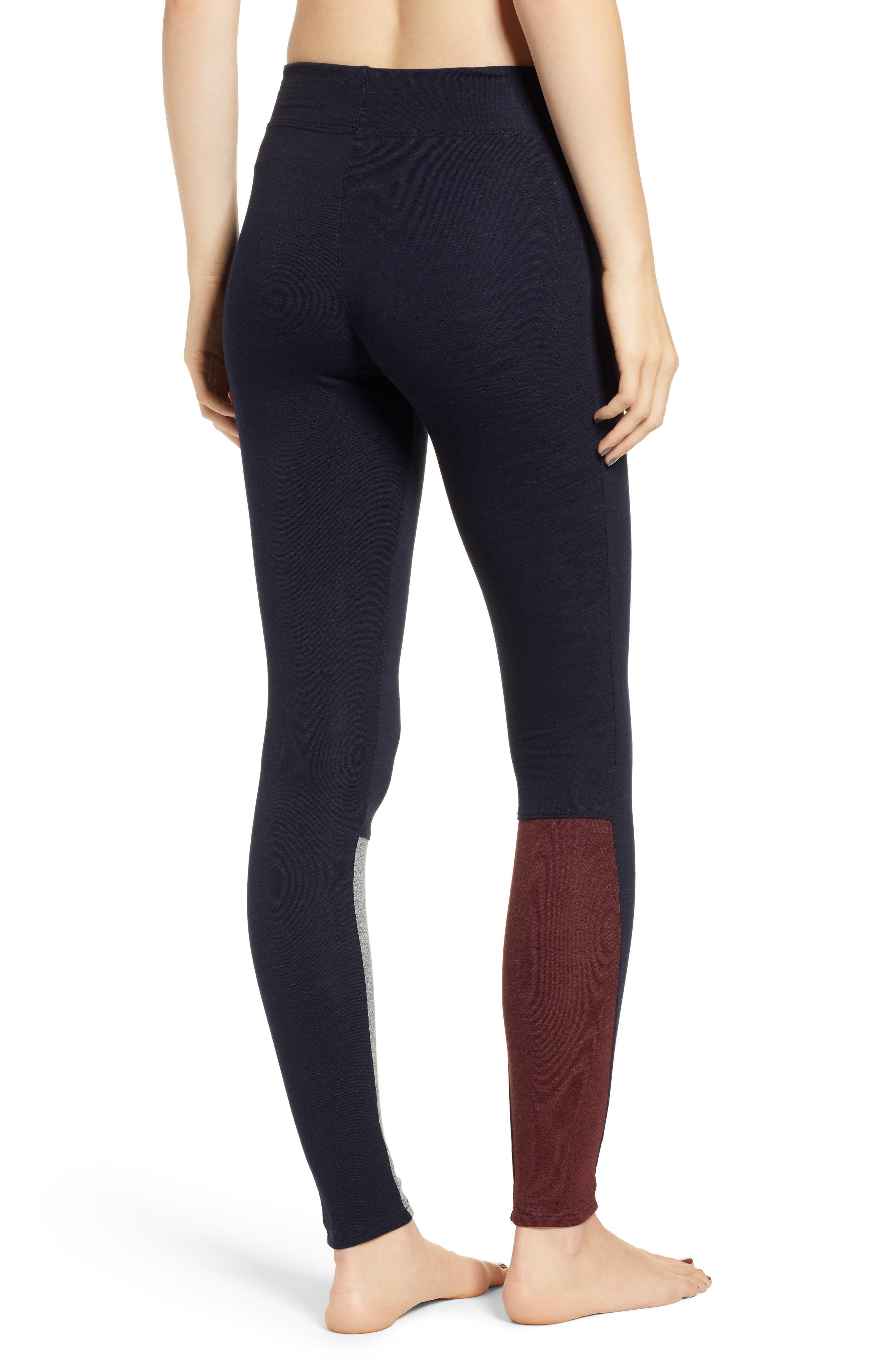Colorblock Surprise Yoga Pants,                             Alternate thumbnail 2, color,                             436