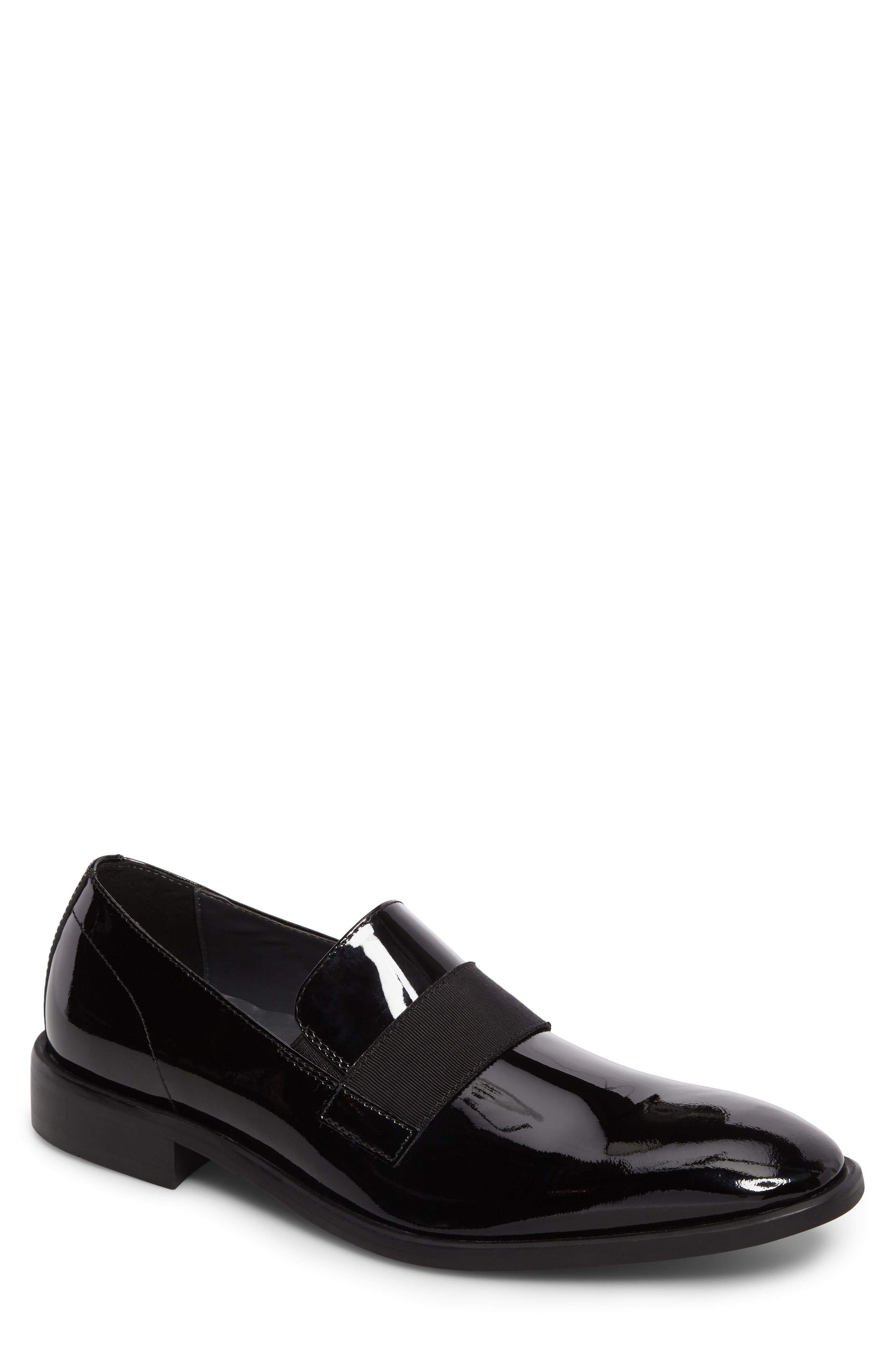 Tulsa Venetian Loafer,                             Main thumbnail 1, color,                             BLACK PATENT LEATHER