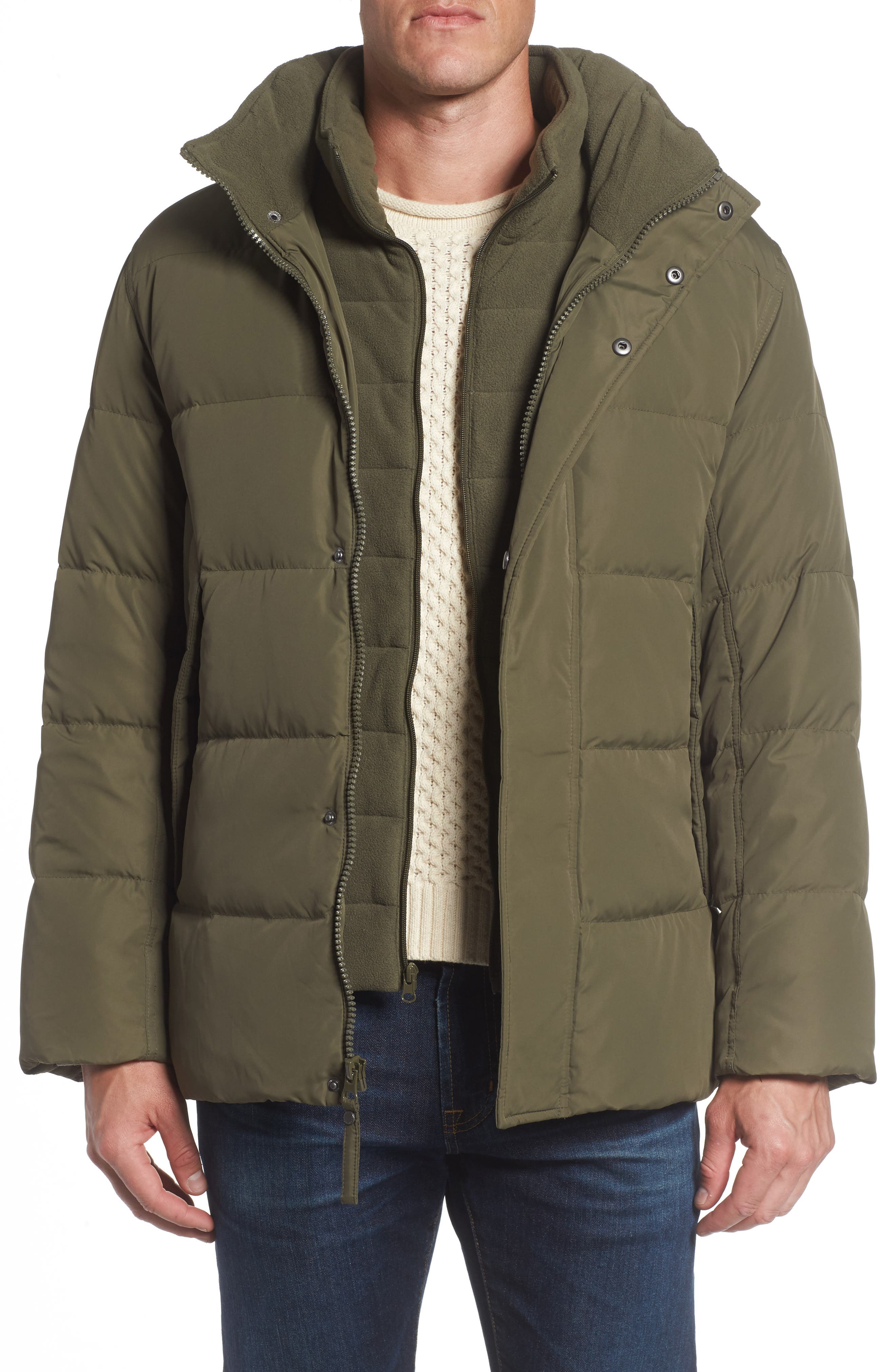Andrew Marc Carlton Quilted Parka,                             Main thumbnail 3, color,