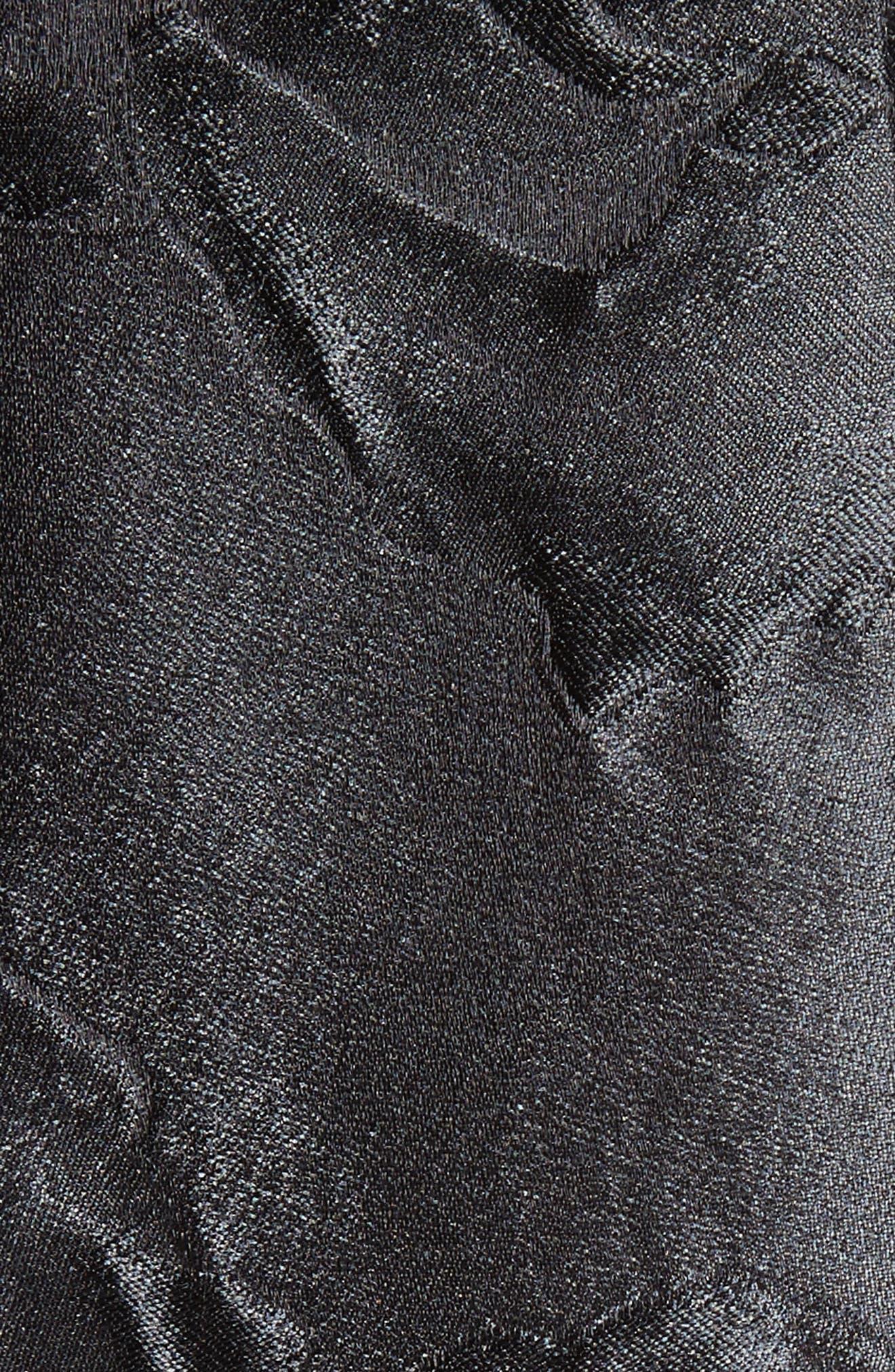Emma Avani Rose Jacquard Pants,                             Alternate thumbnail 6, color,                             001
