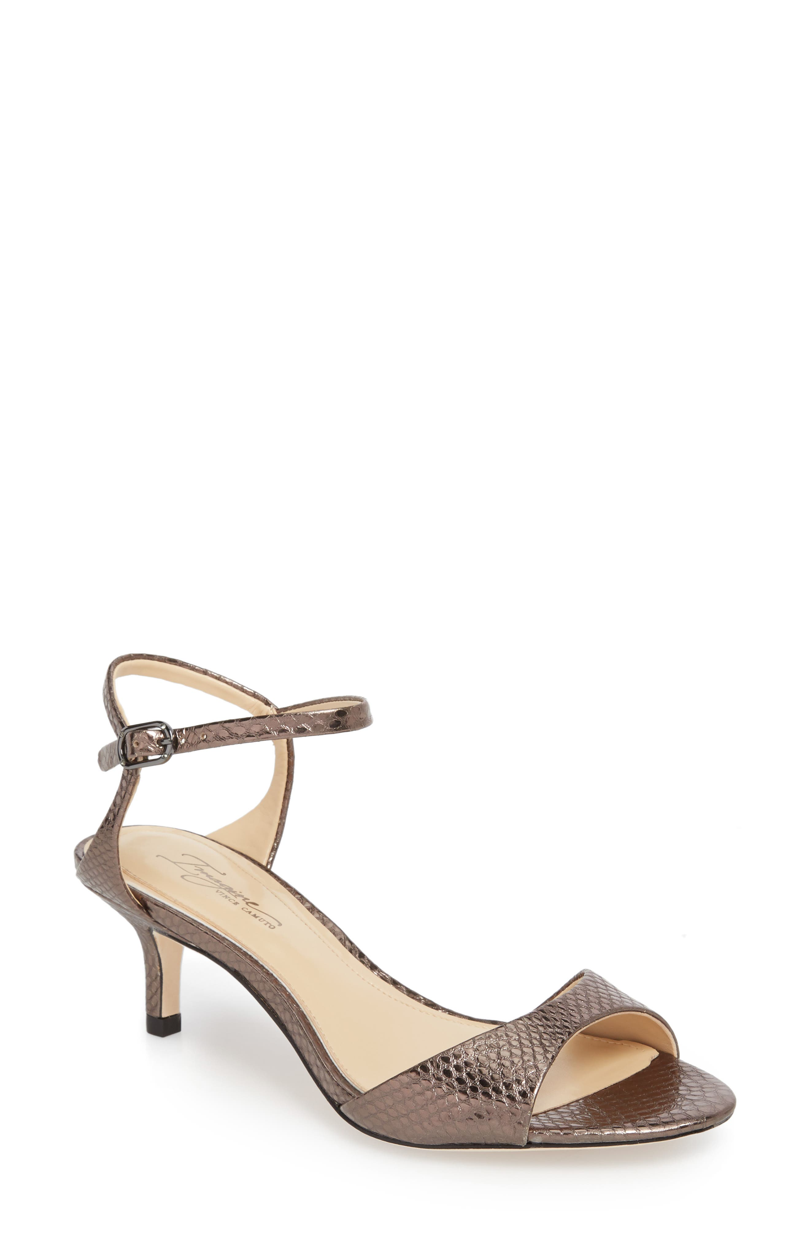 Imagine By Vince Camuto Kymberly Sandal, Grey