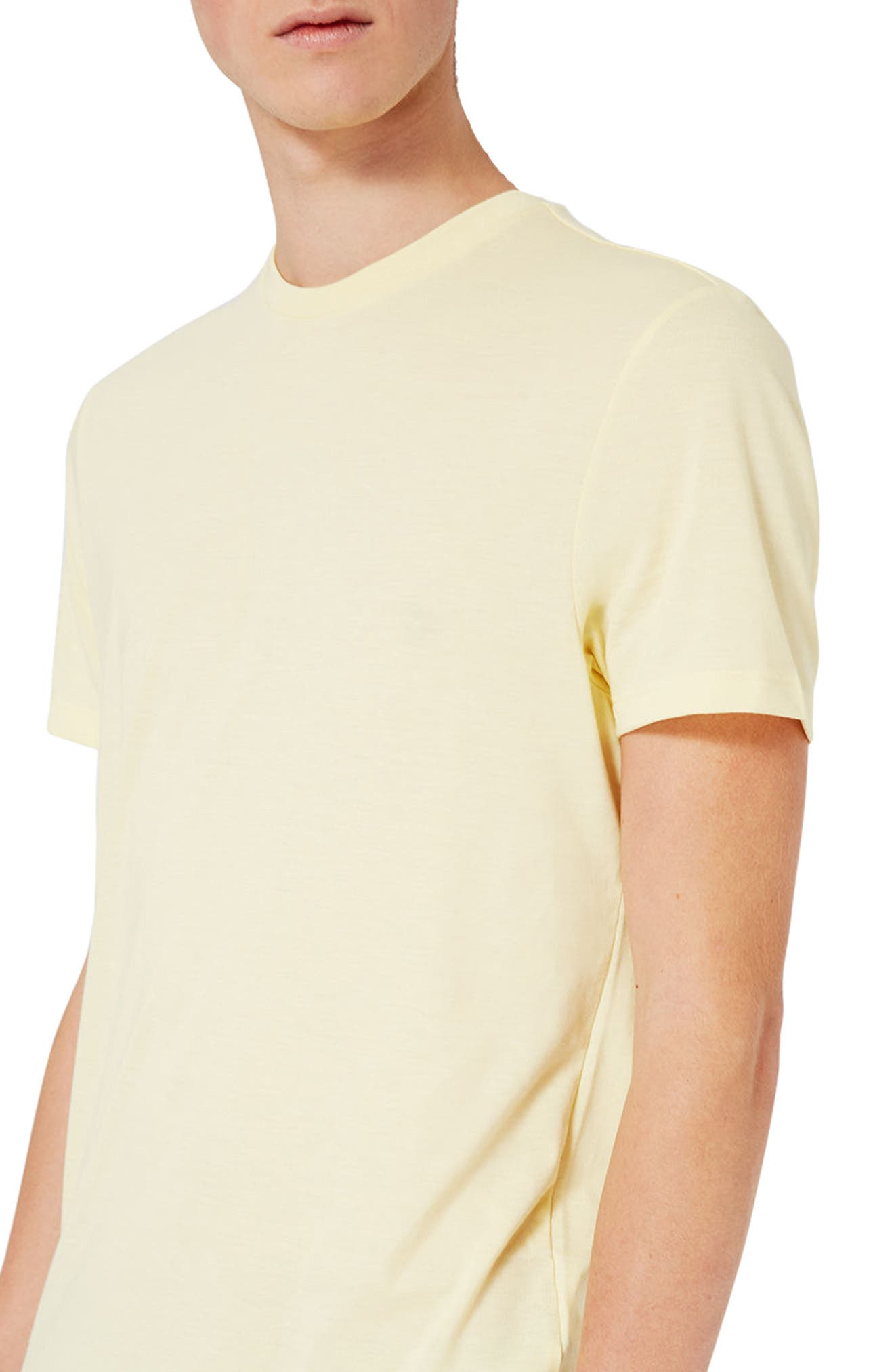 Slim Fit Crewneck T-Shirt,                             Alternate thumbnail 217, color,