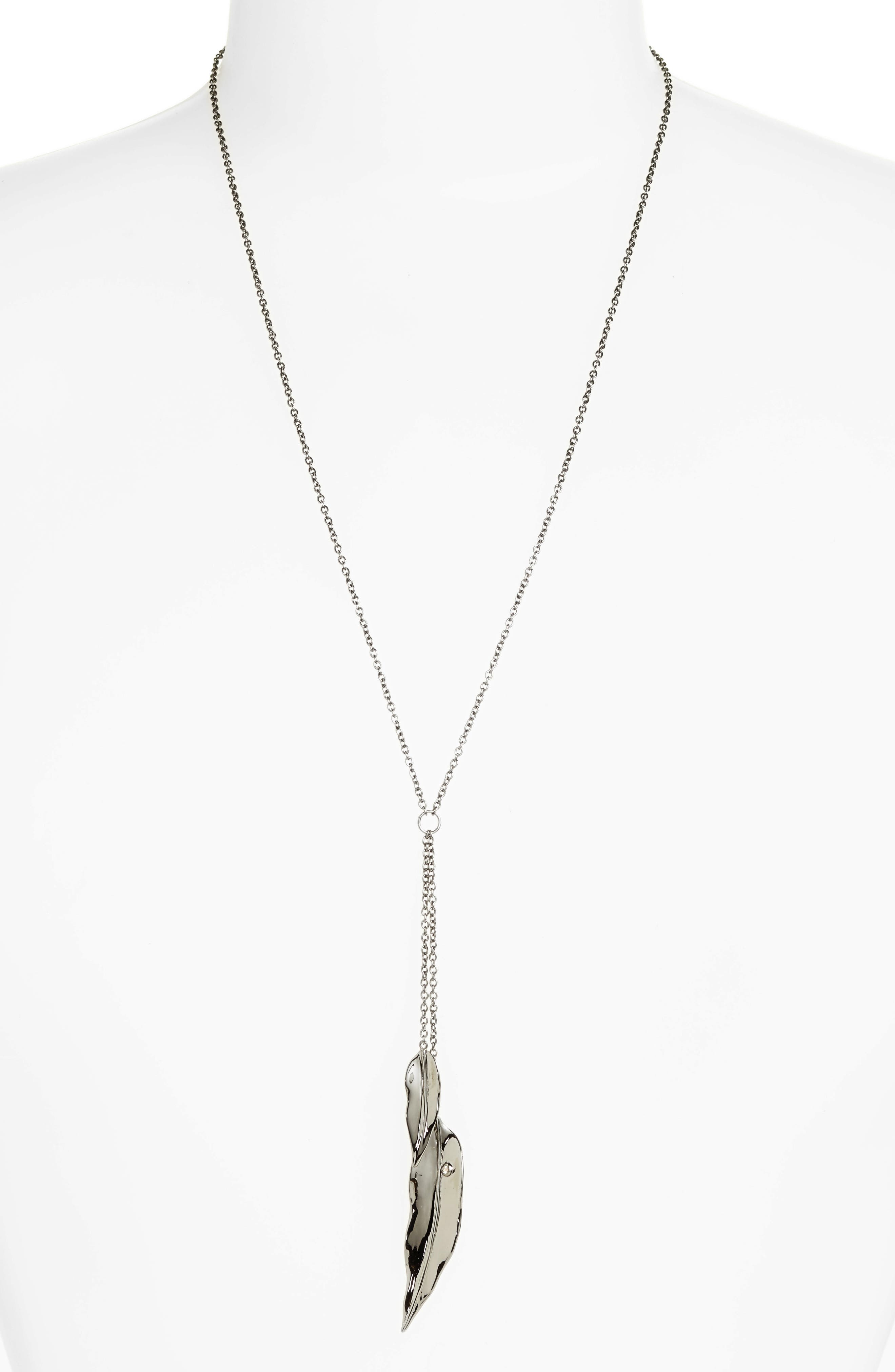 Lillia Y-Necklace,                         Main,                         color, 010