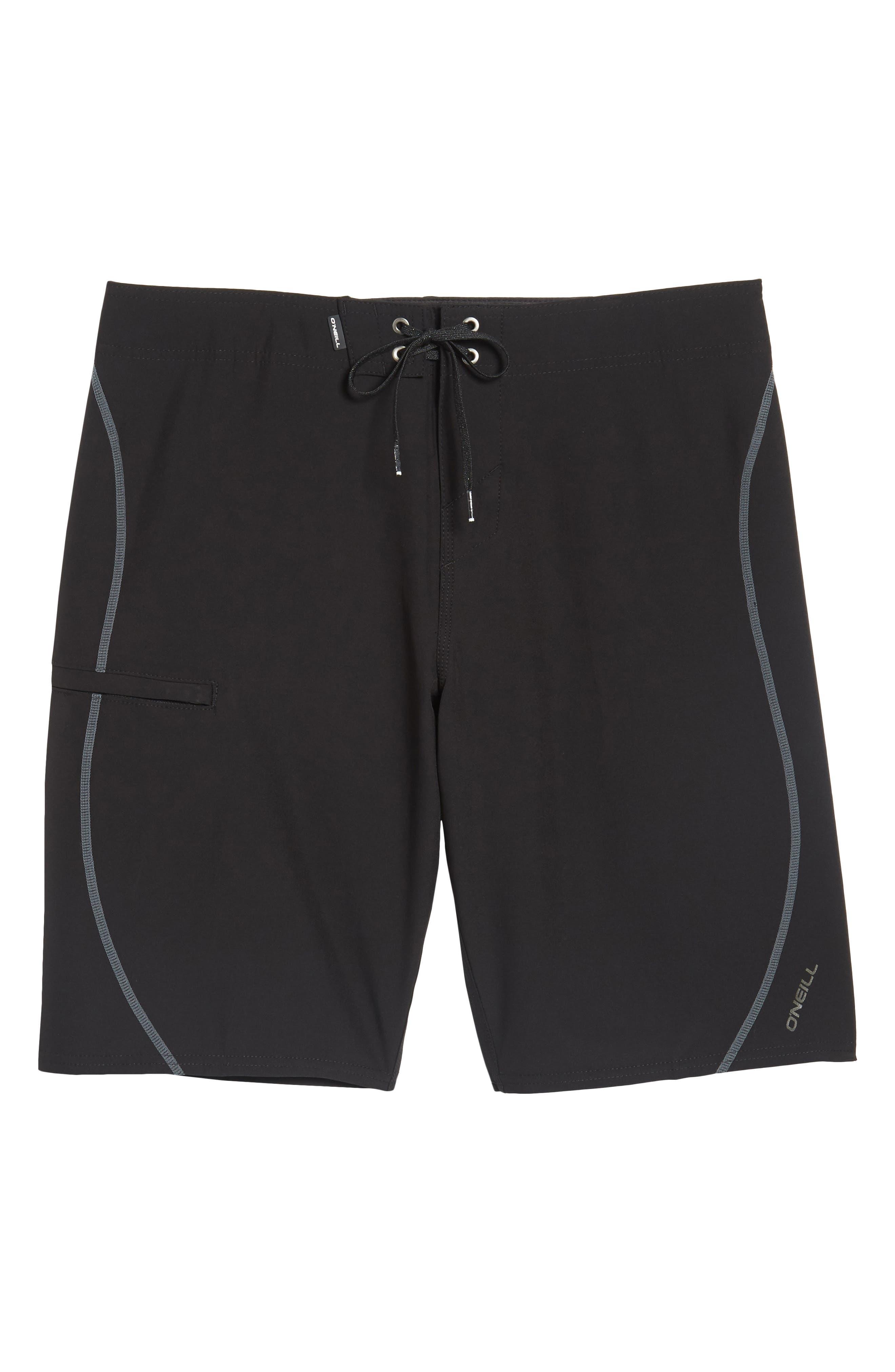 Hyperfreak S-Seam Board Shorts,                             Alternate thumbnail 6, color,                             001