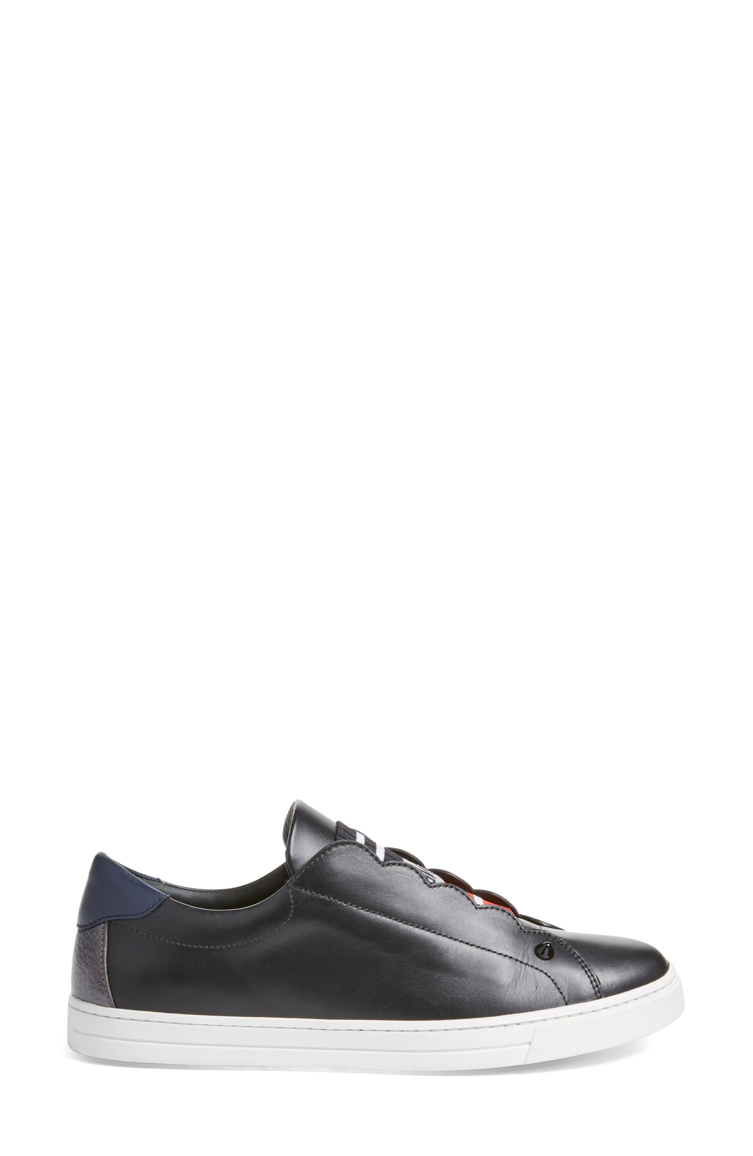 Rockoclick Slip-On Sneaker,                             Alternate thumbnail 3, color,                             001
