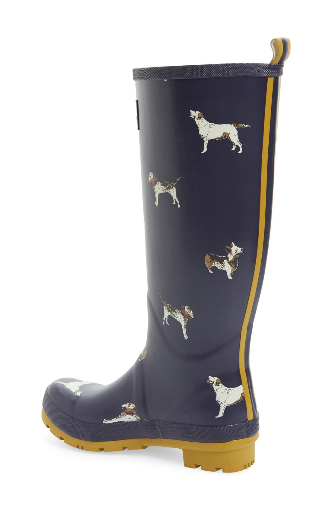 'Welly' Print Rain Boot,                             Alternate thumbnail 65, color,