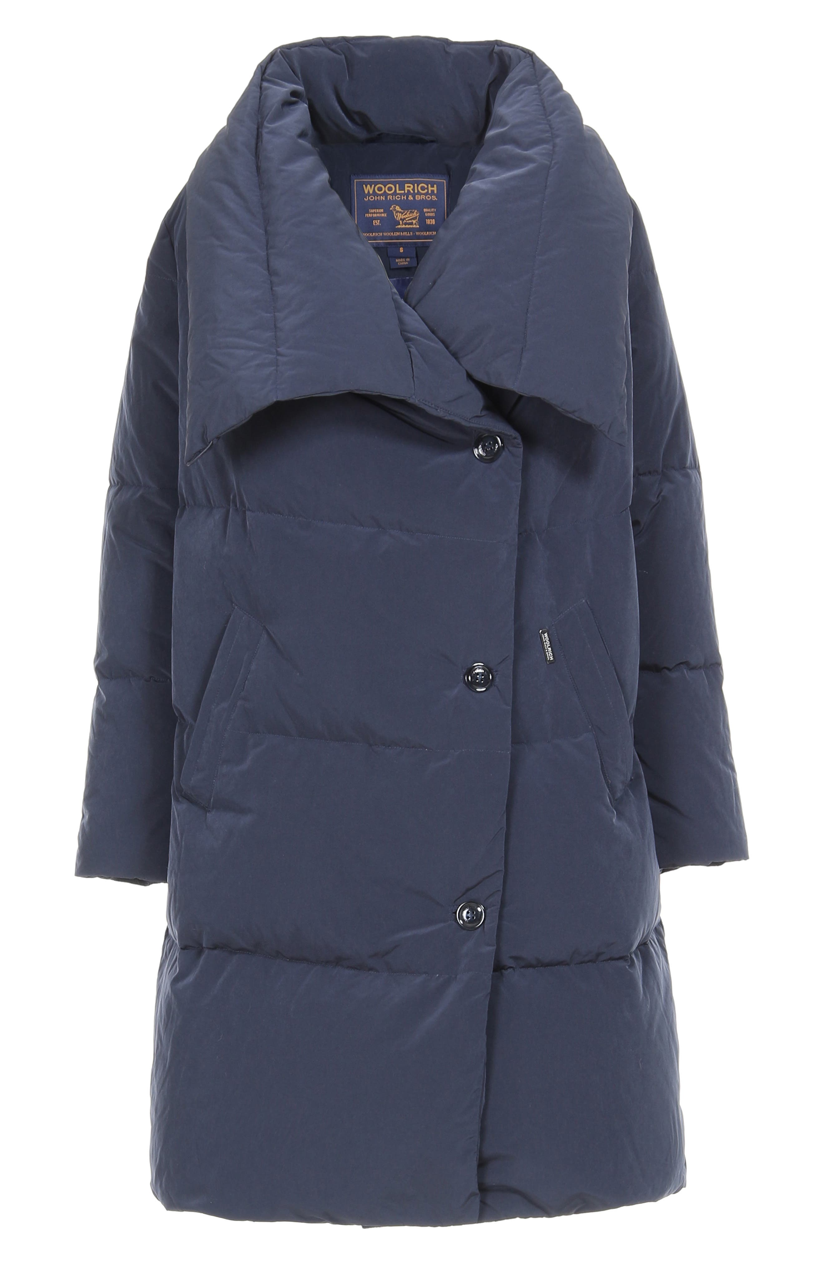 WOOLRICH,                             Puffy Down Coat,                             Alternate thumbnail 6, color,                             400