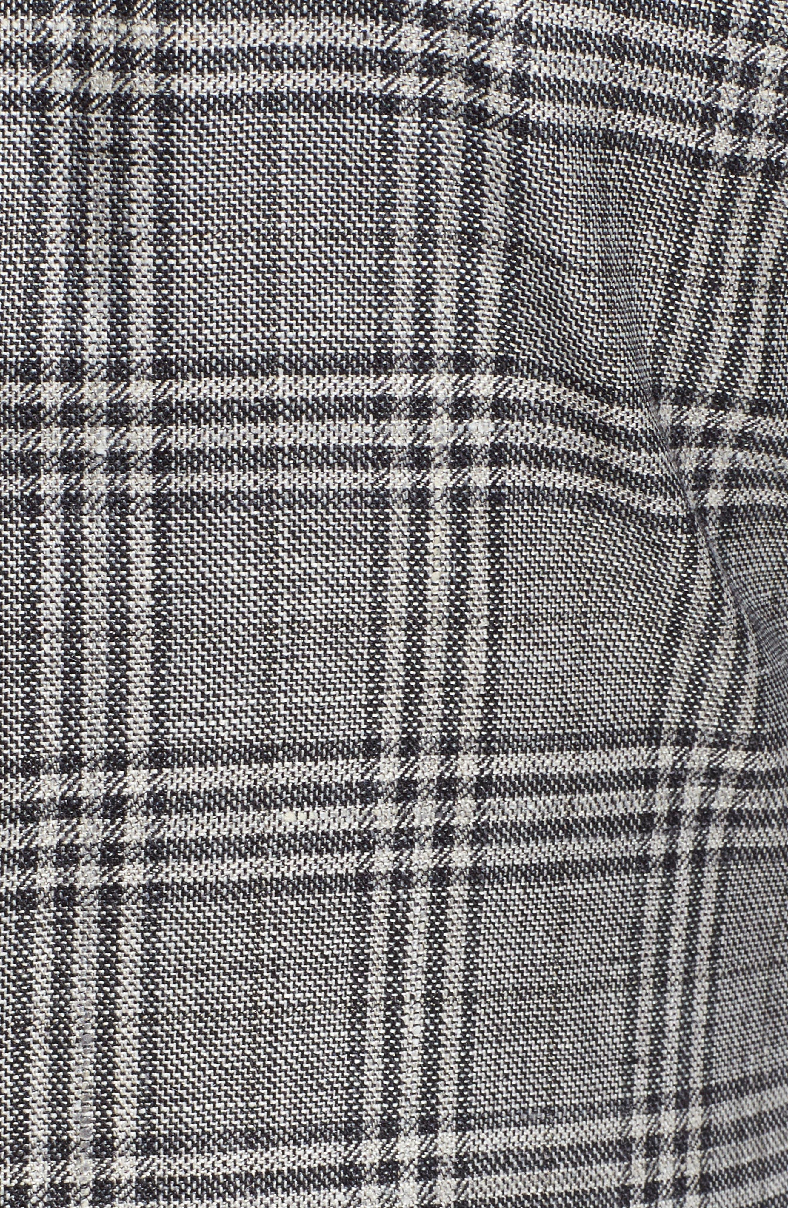 Trim Fit Plaid Wool Blend Sport Coat,                             Alternate thumbnail 6, color,                             030