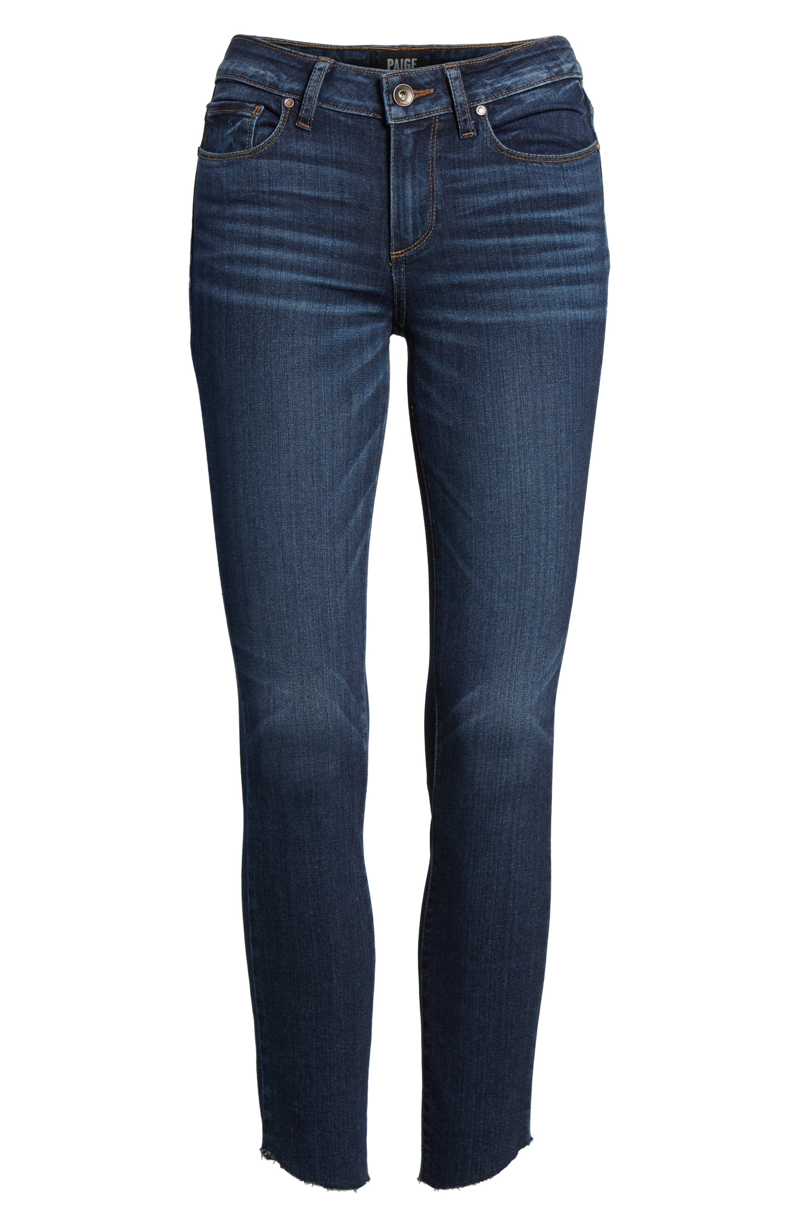 Transcend - Verdugo Ankle Ultra Skinny Jeans,                             Alternate thumbnail 6, color,                             400