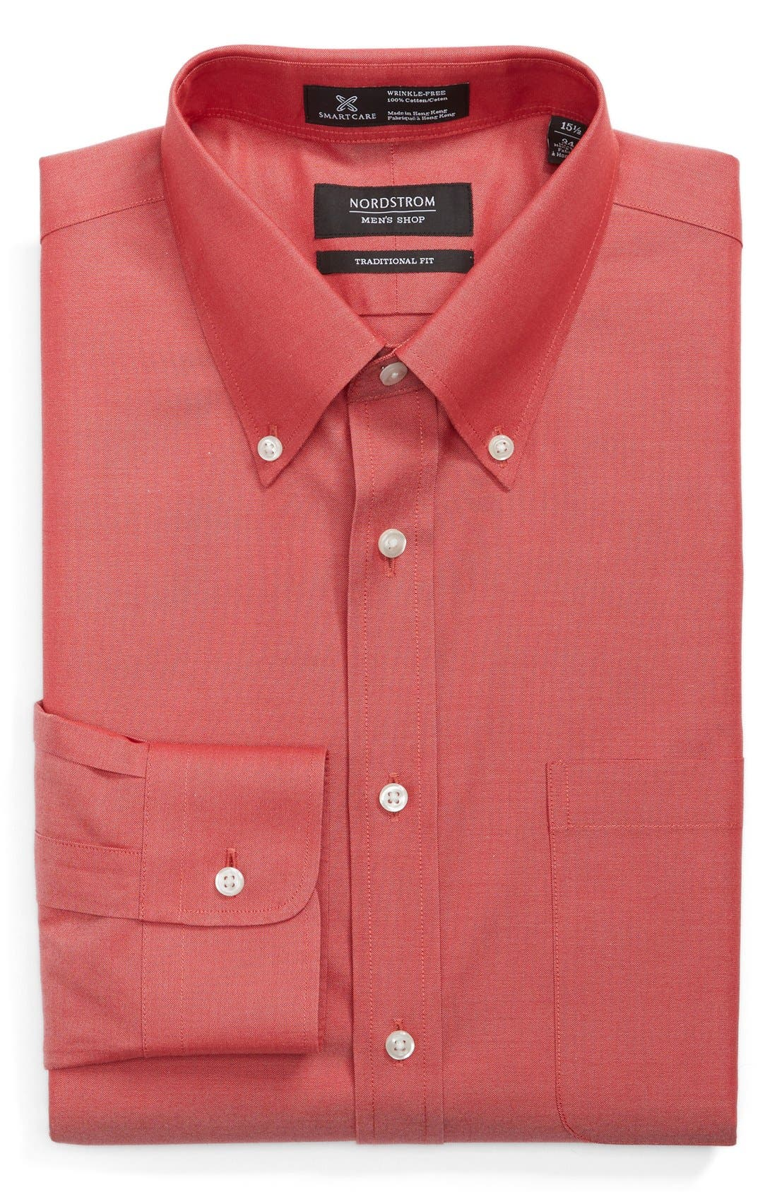 Smartcare<sup>™</sup> Traditional Fit Pinpoint Dress Shirt,                             Main thumbnail 29, color,