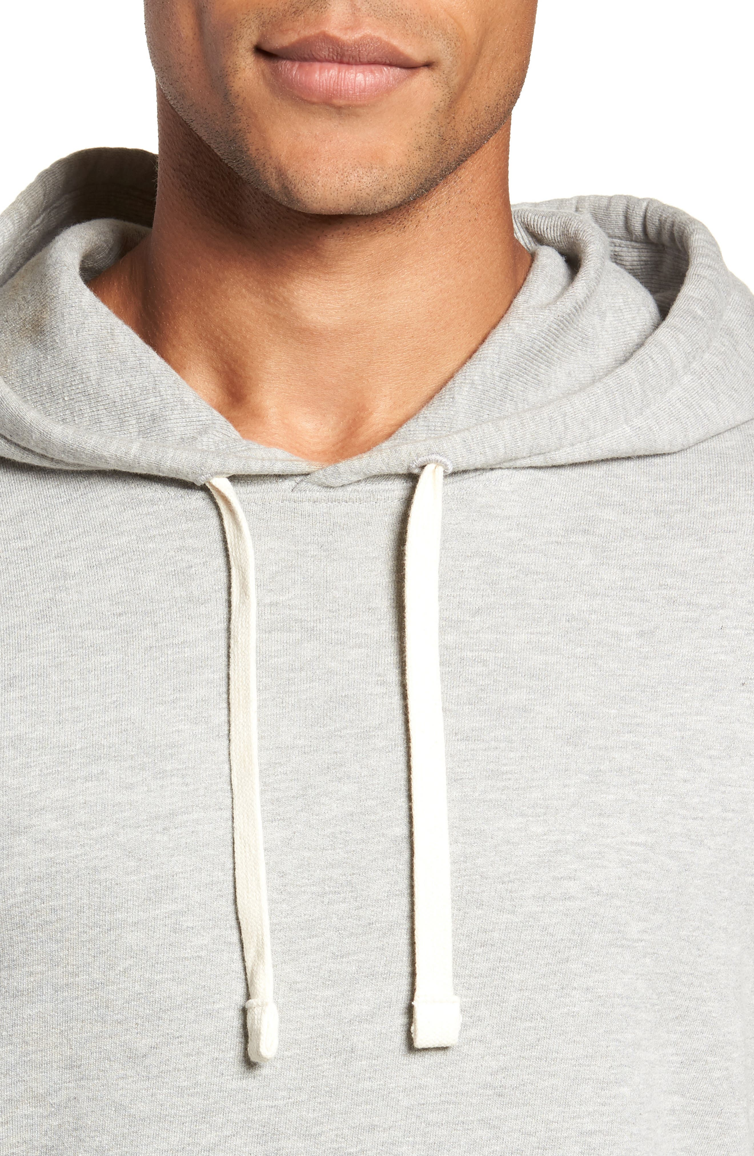 Hoodie,                             Alternate thumbnail 4, color,                             HEATHER GREY