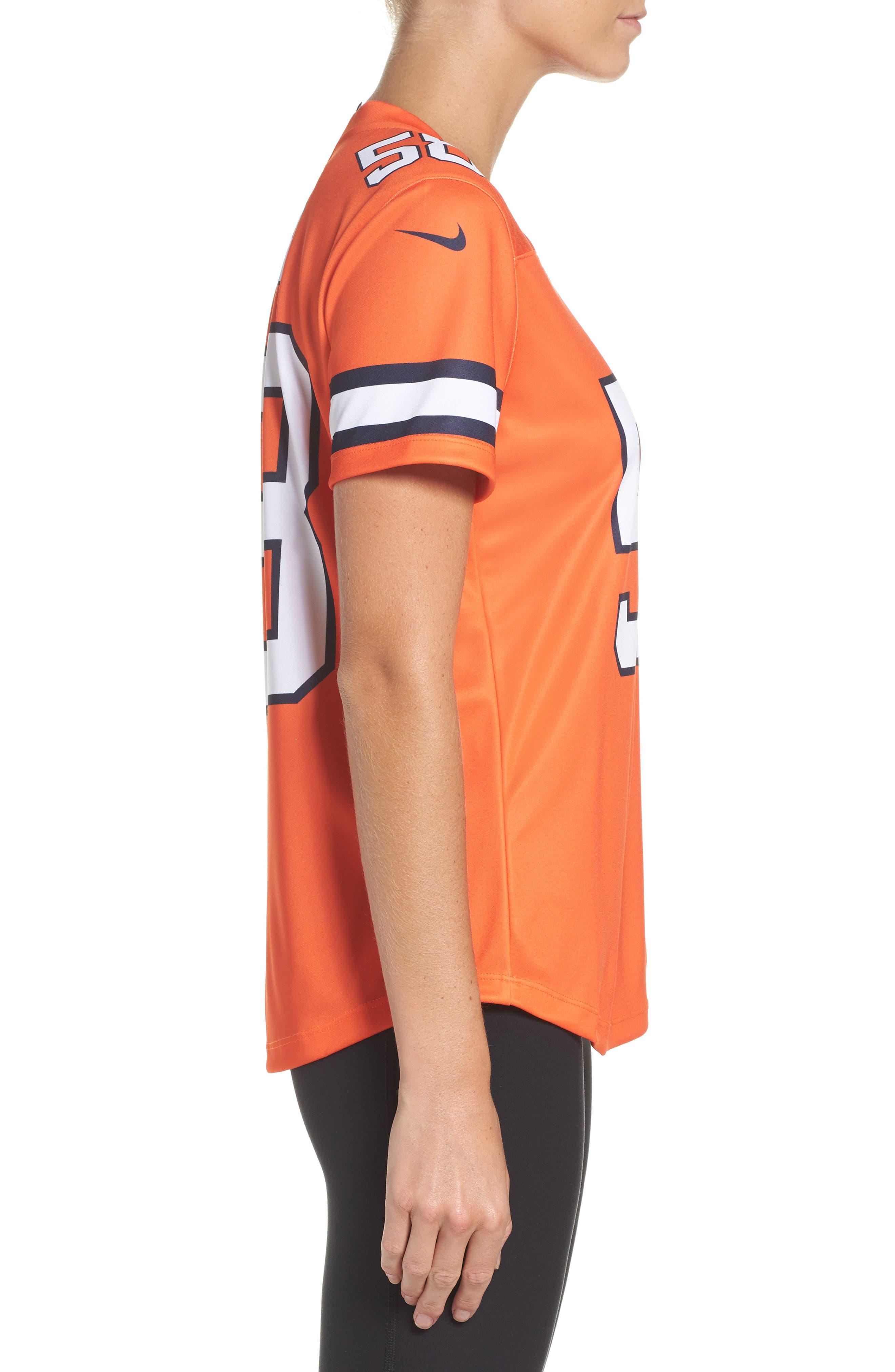 NFL Miller Denver Broncos Jersey,                             Alternate thumbnail 3, color,                             828