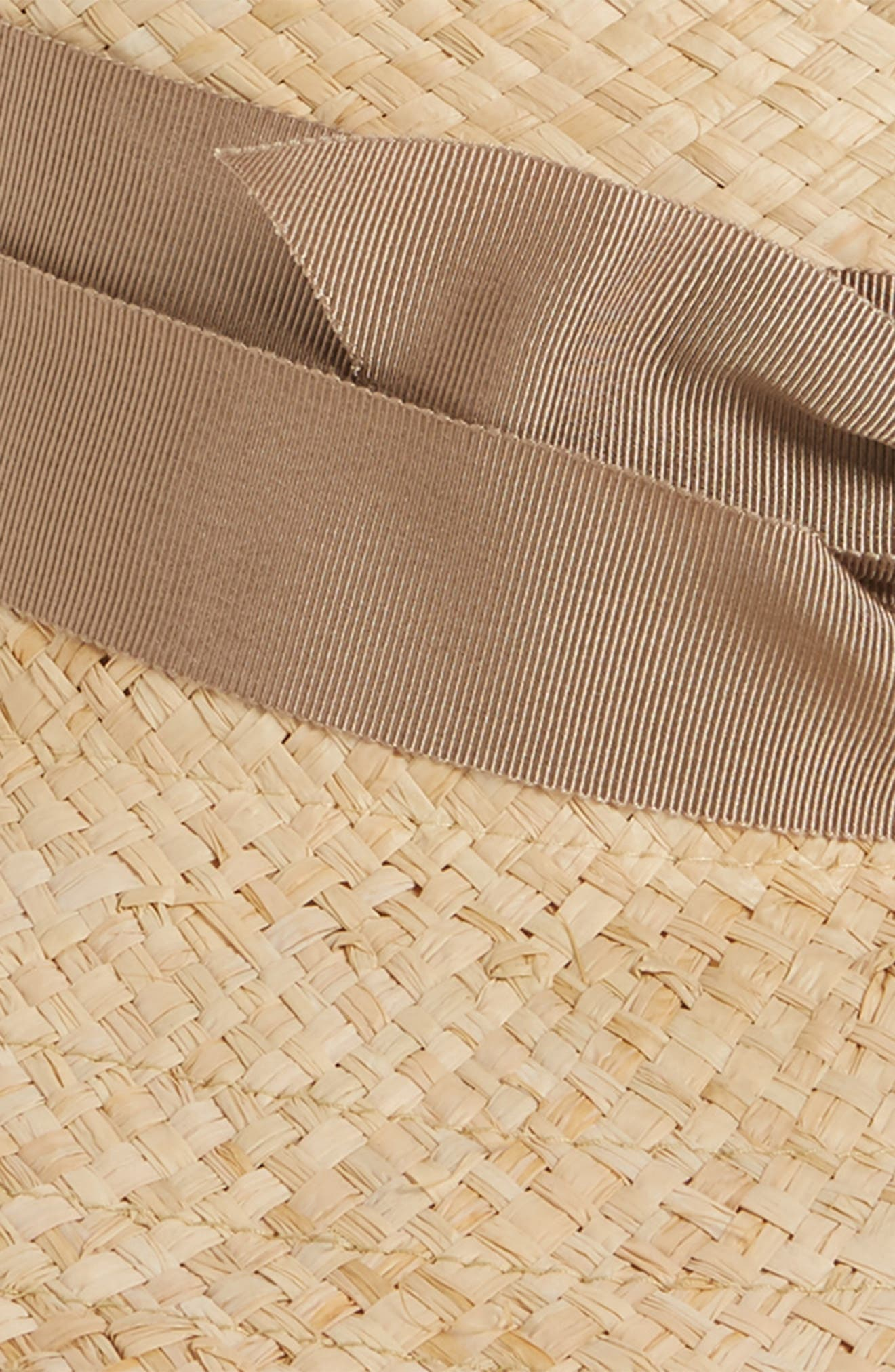First Aid Straw Hat,                             Alternate thumbnail 2, color,                             NATURAL/ CAMEL