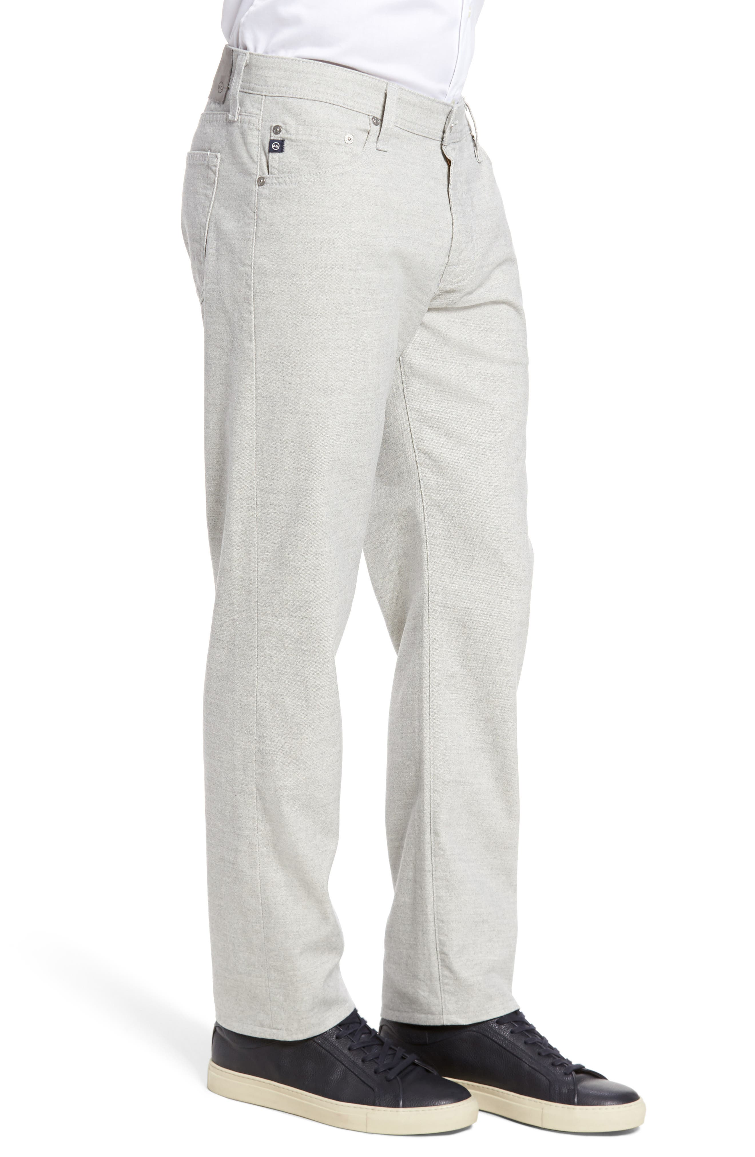 Graduate Tailored Five-Pocket Straight Leg Pants,                             Alternate thumbnail 3, color,                             020
