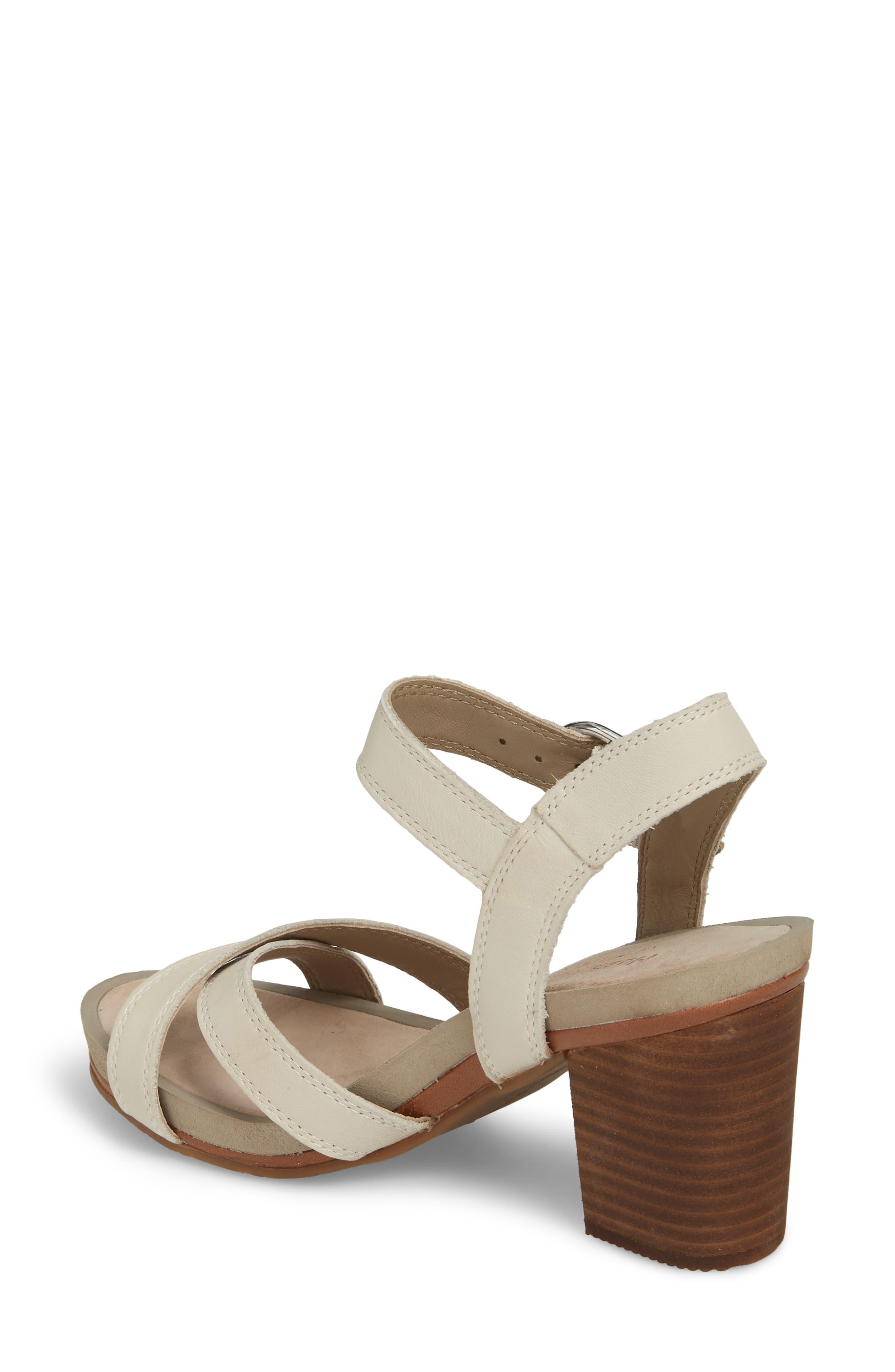 Mariska Block Heel Sandal,                             Alternate thumbnail 4, color,
