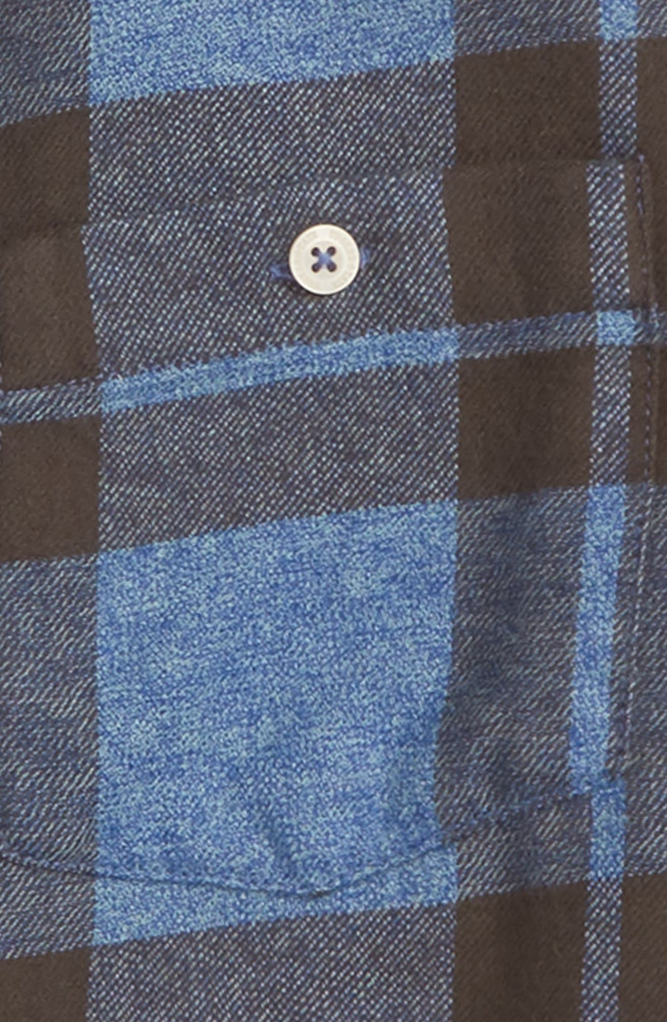 Jaspé Plaid Shirt,                             Alternate thumbnail 2, color,                             401
