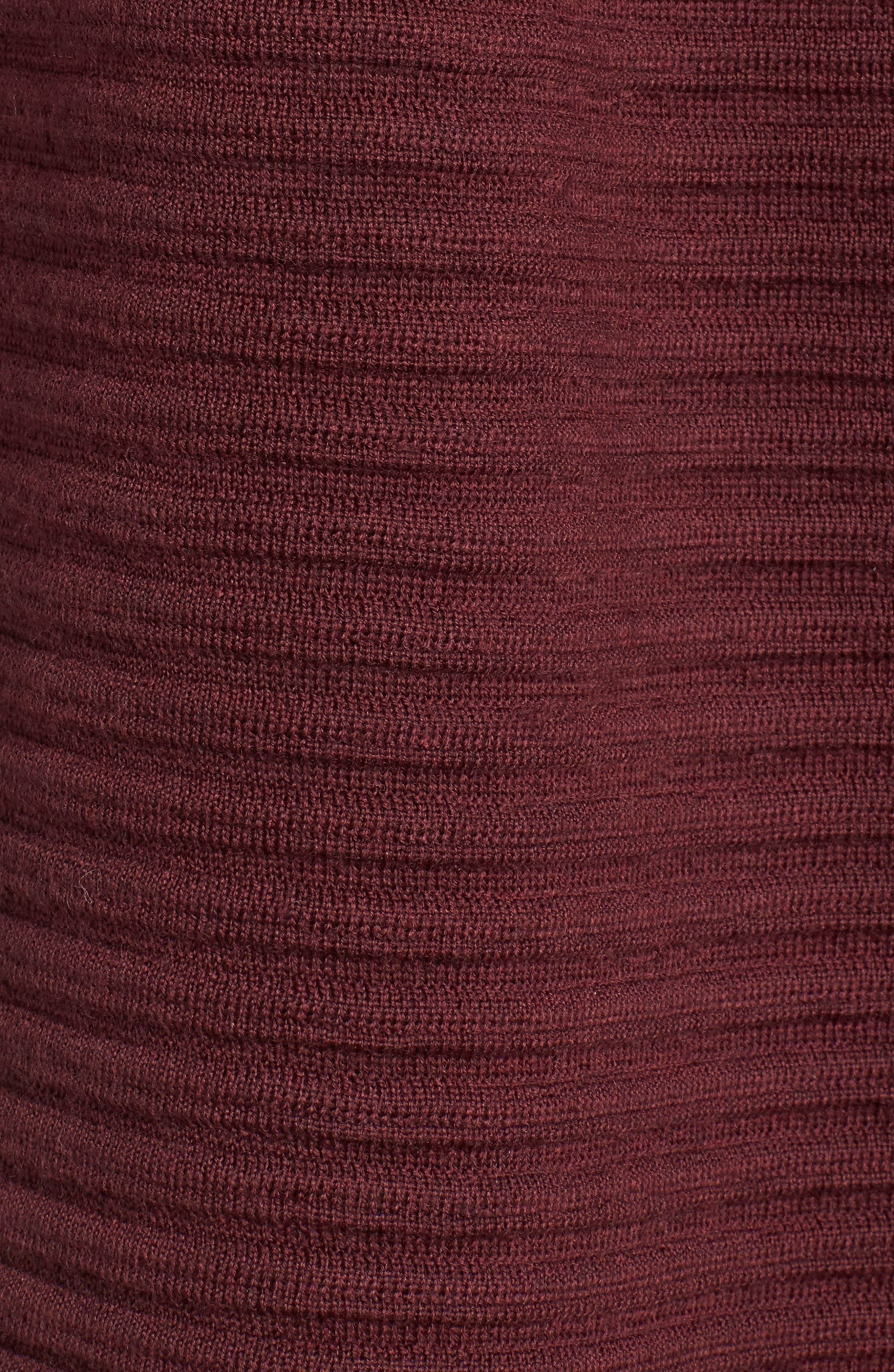 Ribbed Merino Wool Long Cardigan,                             Alternate thumbnail 30, color,