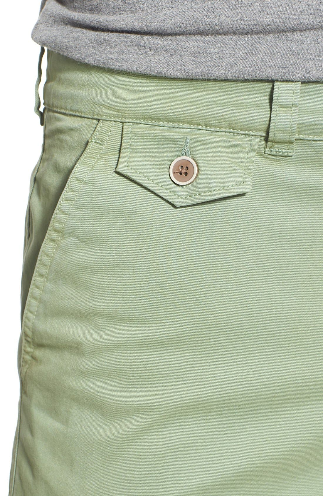 'Sunny' Stretch Chino Shorts,                             Alternate thumbnail 19, color,