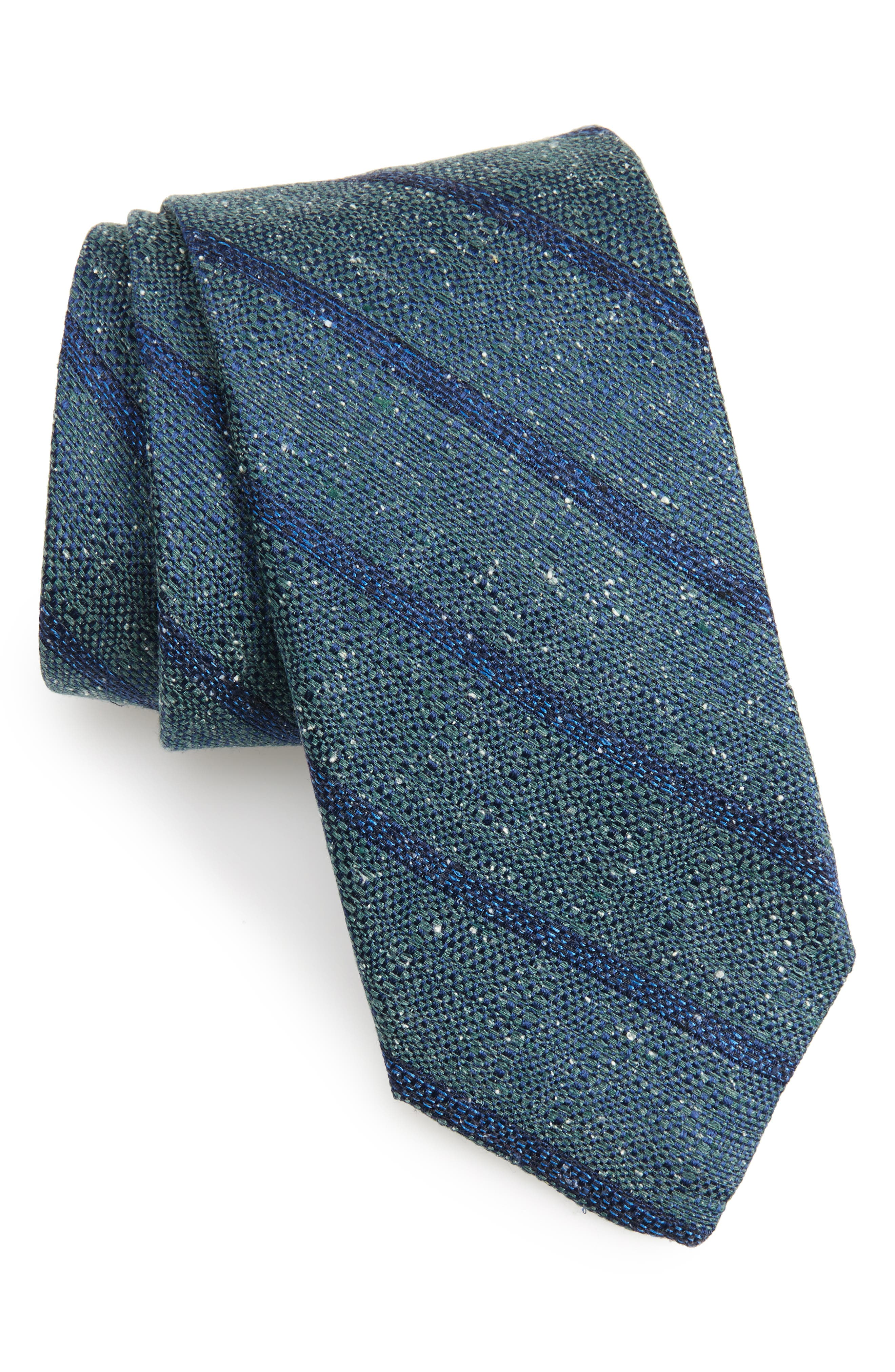 Armstrong Stripe Silk Tie,                             Main thumbnail 1, color,                             320