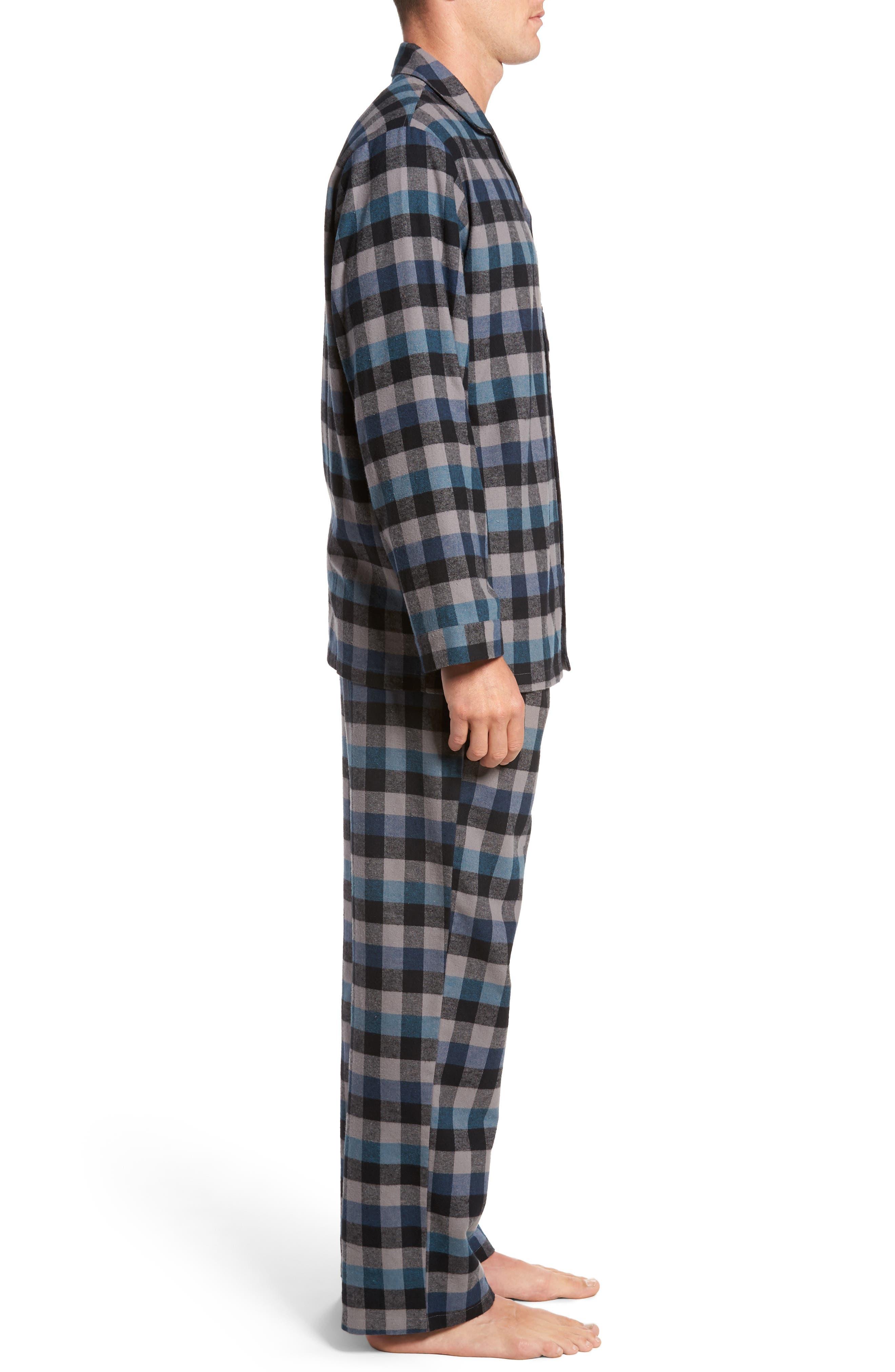 '824' Flannel Pajama Set,                             Alternate thumbnail 59, color,