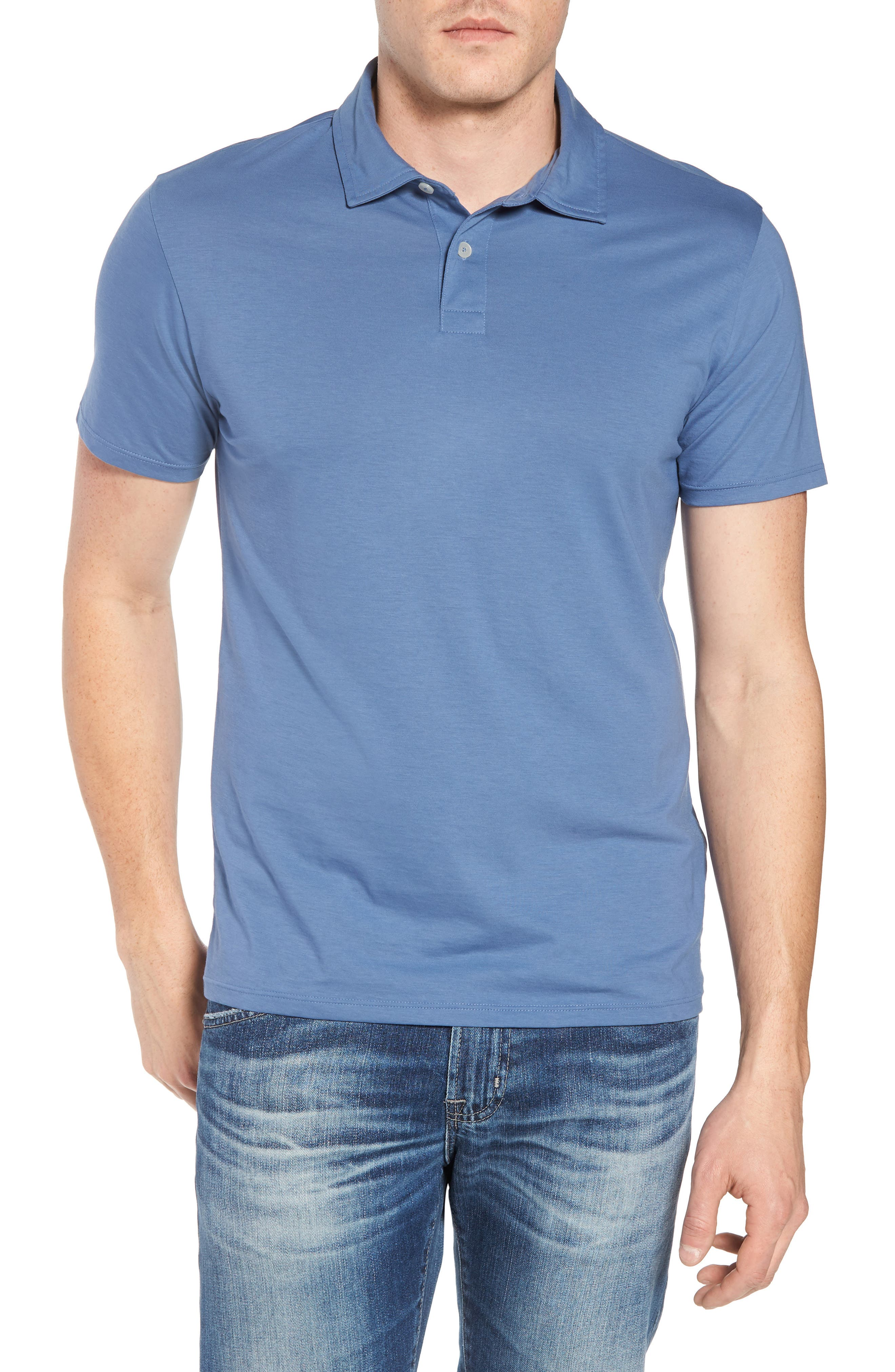 Refined Jersey Polo,                             Main thumbnail 6, color,
