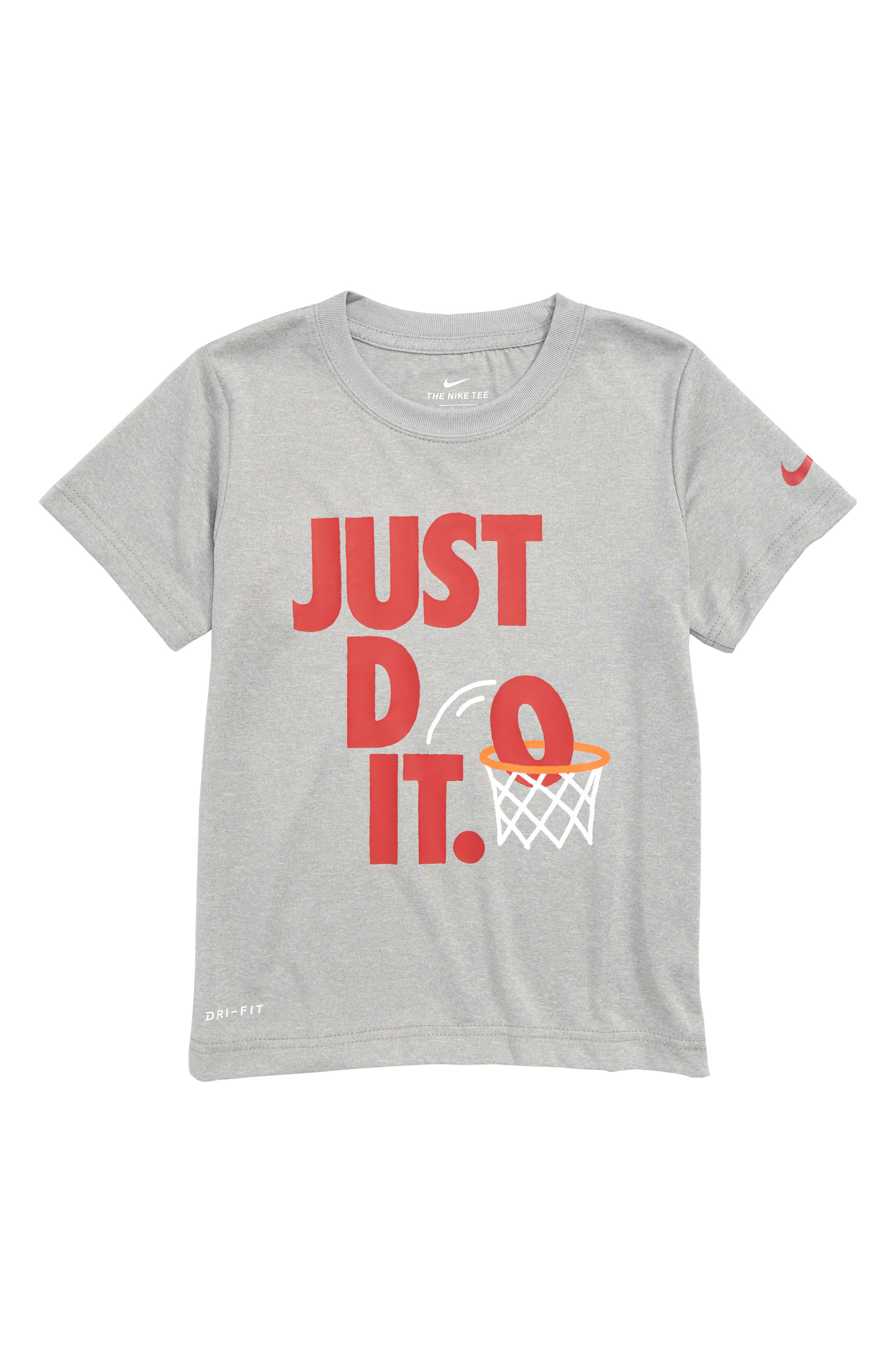 Just Do It Dunk Dry T-Shirt,                         Main,                         color, 088