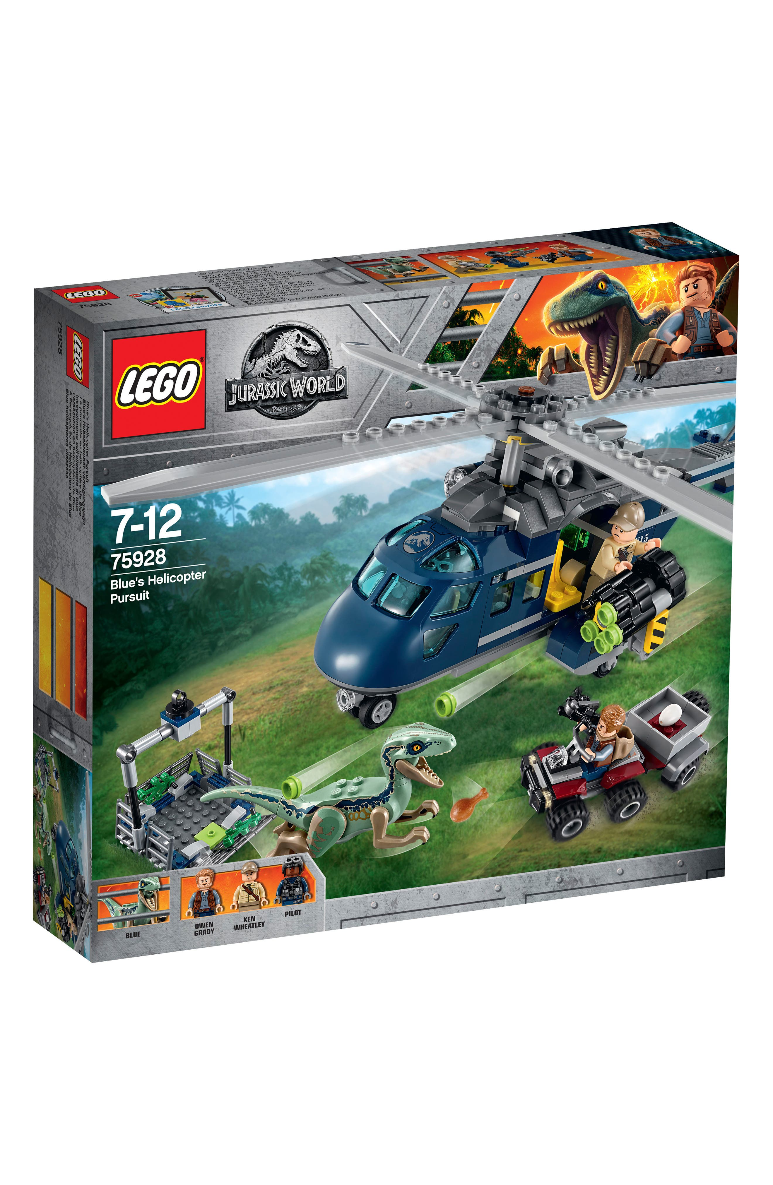 LEGO<SUP>®</SUP>,                             Blues Helicopter Pursuit - 75928,                             Main thumbnail 1, color,                             400