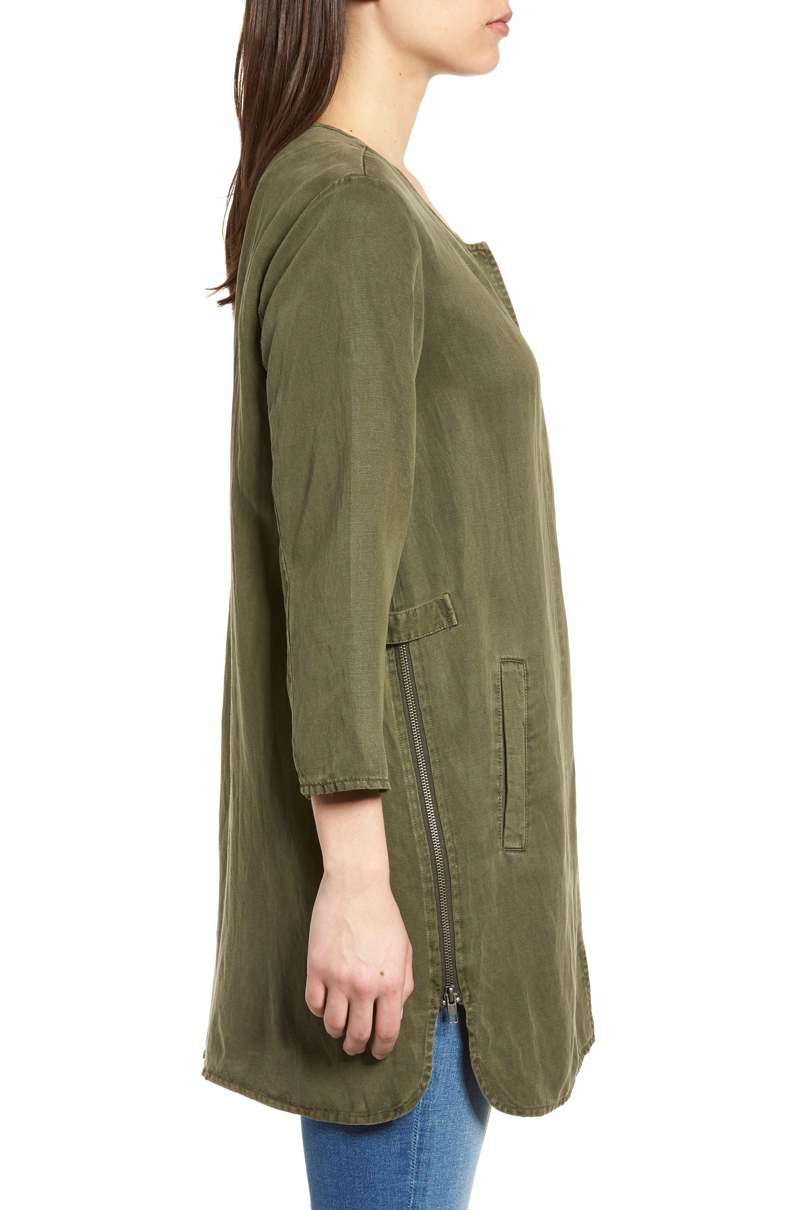 Tunic Jacket,                             Alternate thumbnail 3, color,                             300