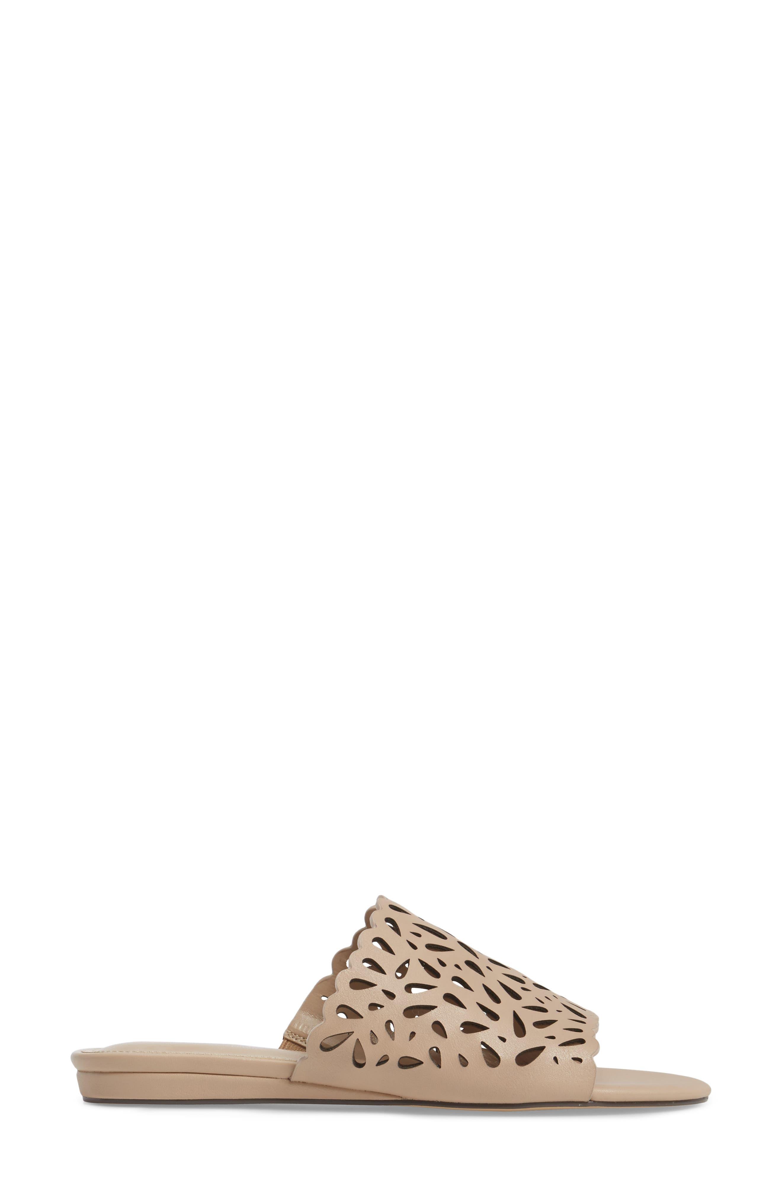 Model Slide Sandal,                             Alternate thumbnail 8, color,