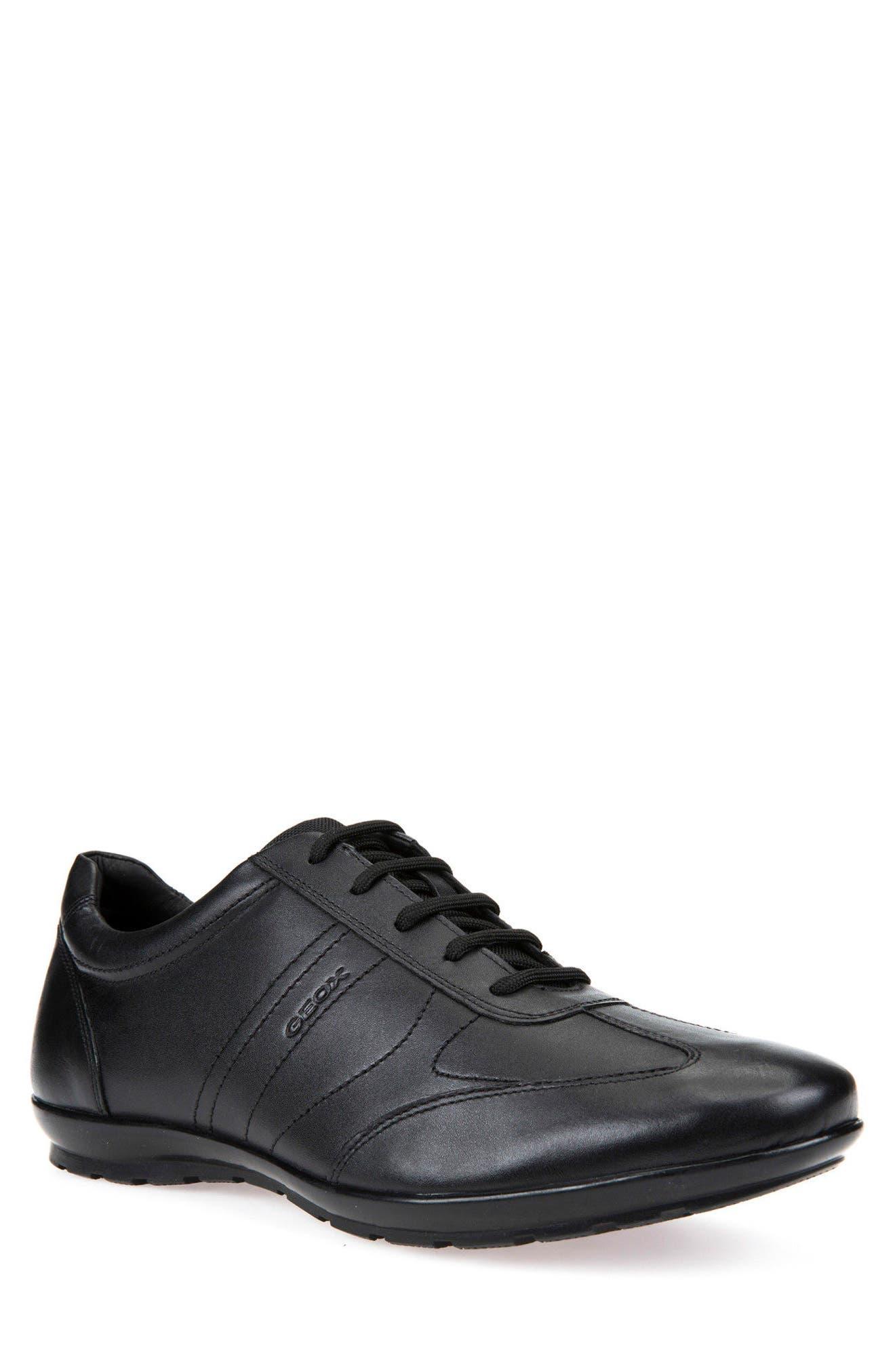 Symbol 19 Euro Sneaker,                             Main thumbnail 1, color,                             BLACK