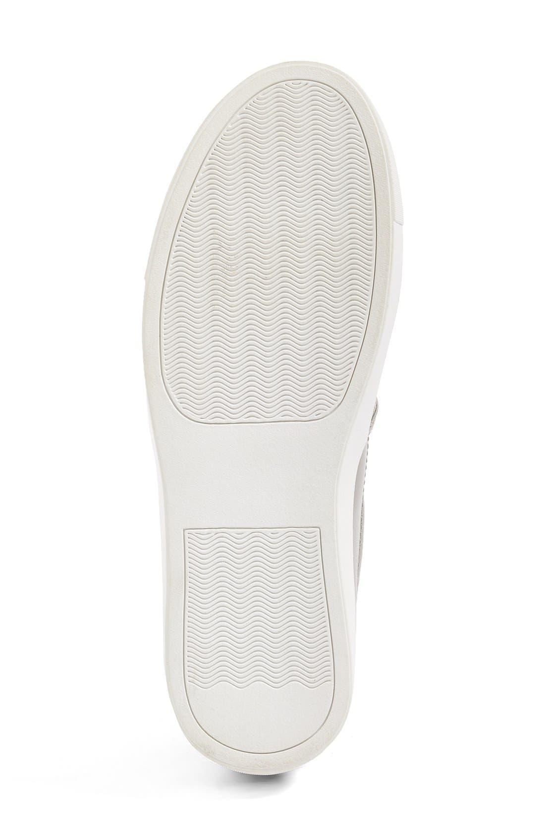 Eden Perforated Slip-On Sneaker,                             Alternate thumbnail 19, color,