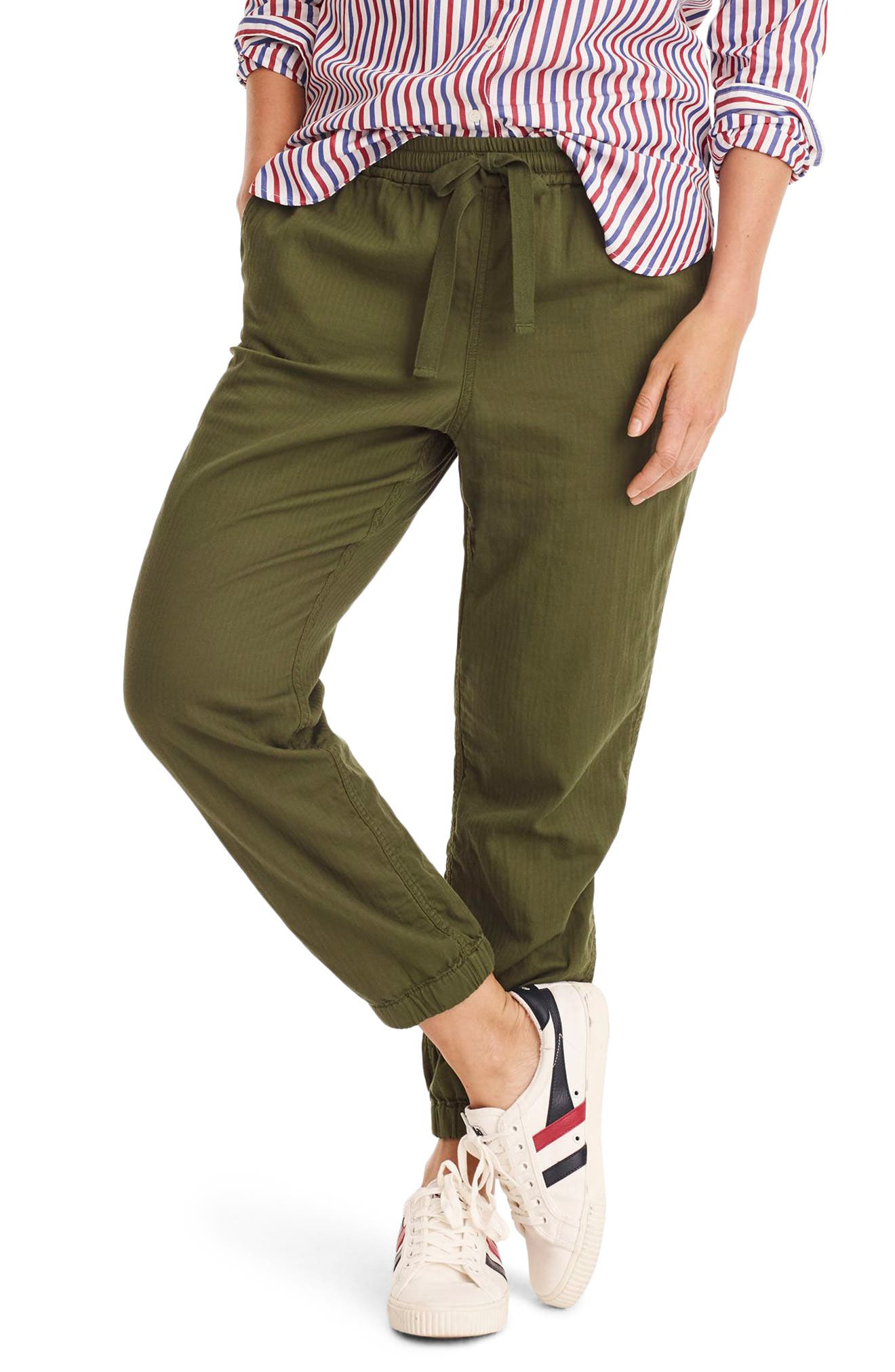 J.crew Galicia Pull-On Cargo Pants, Green