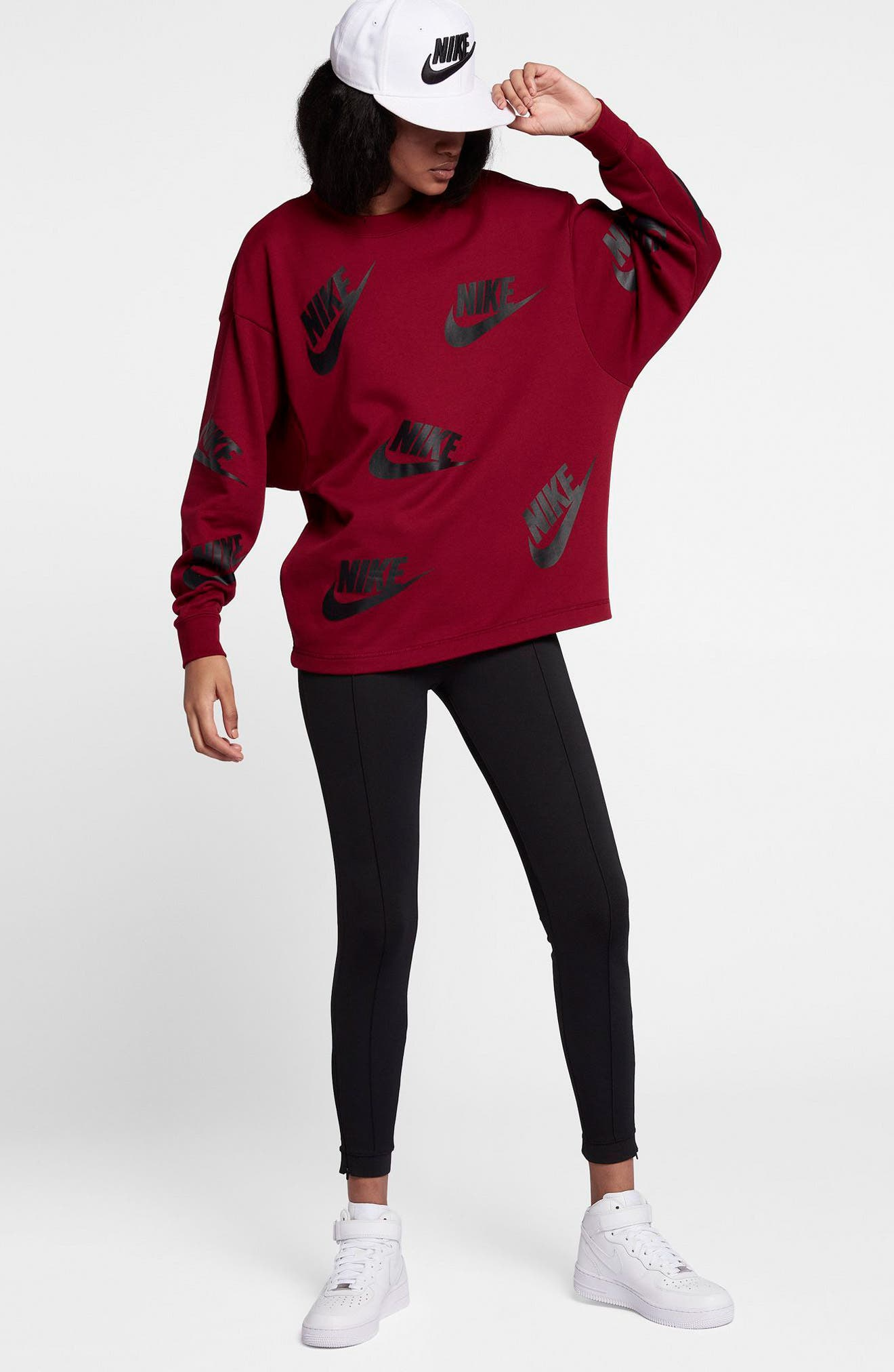 Sportswear Futura Sweatshirt,                             Alternate thumbnail 10, color,