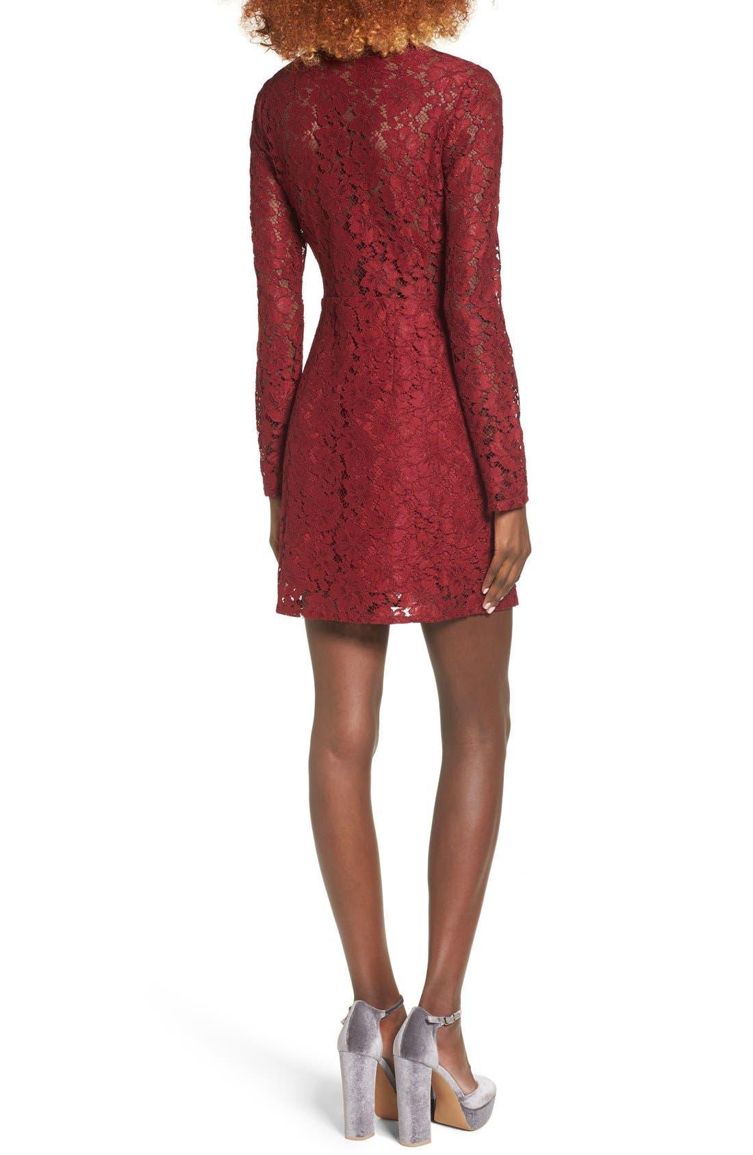 Say It Out Loud Lace Dress,                             Alternate thumbnail 24, color,