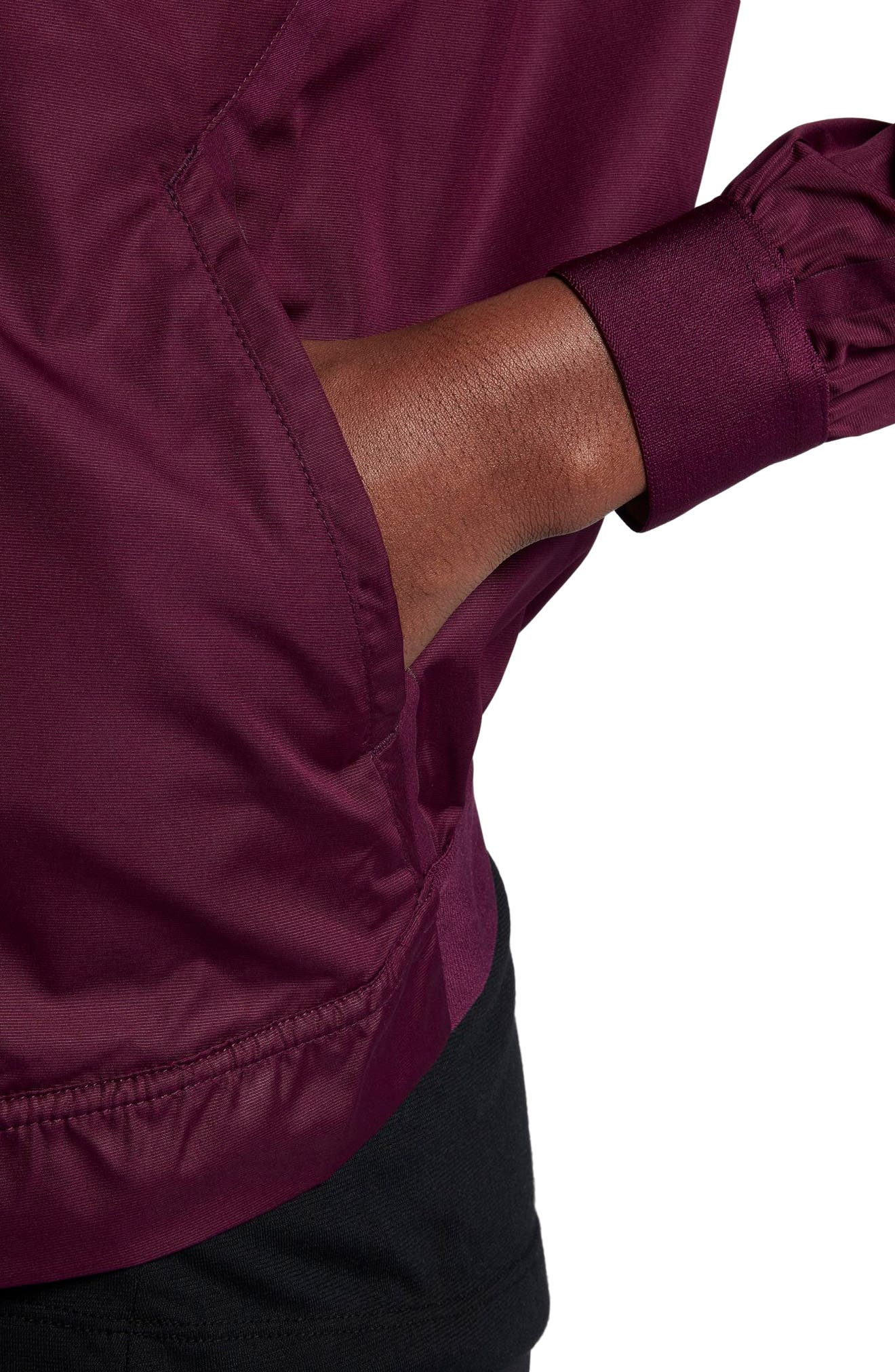 Court Water-Resistant Bomber Jacket,                             Alternate thumbnail 8, color,